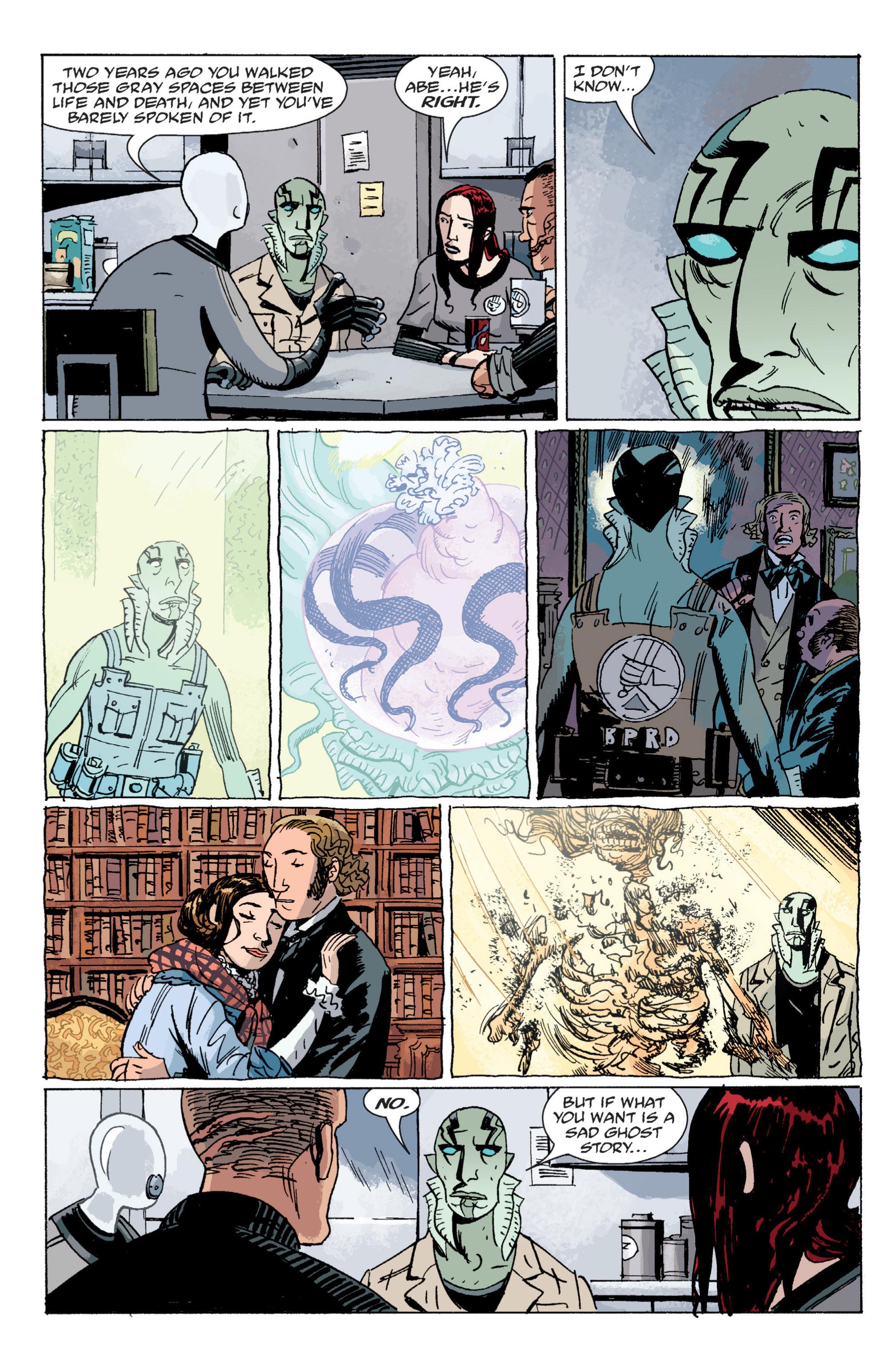 Read online B.P.R.D. (2003) comic -  Issue # TPB 6 - 99