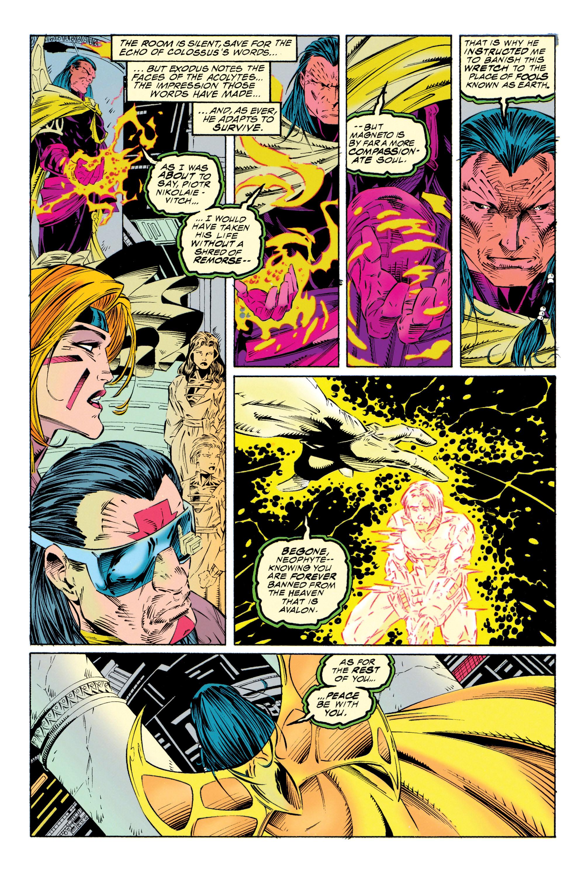 Read online Uncanny X-Men (1963) comic -  Issue #315 - 21