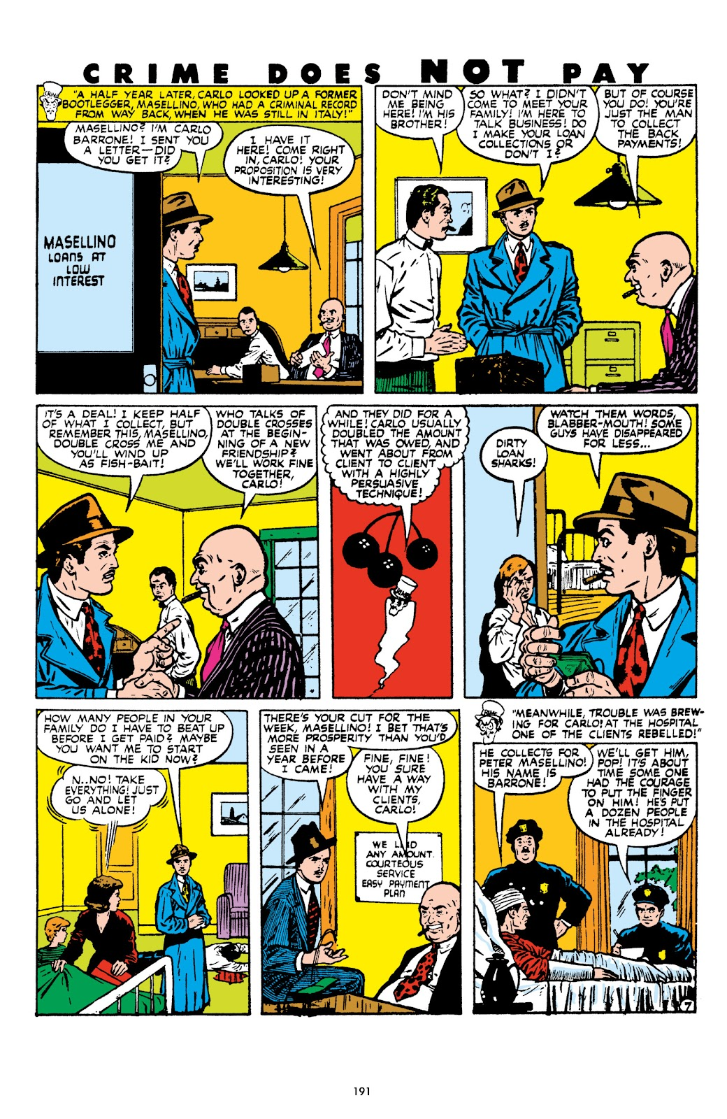 Read online Crime Does Not Pay Archives comic -  Issue # TPB 8 (Part 2) - 92