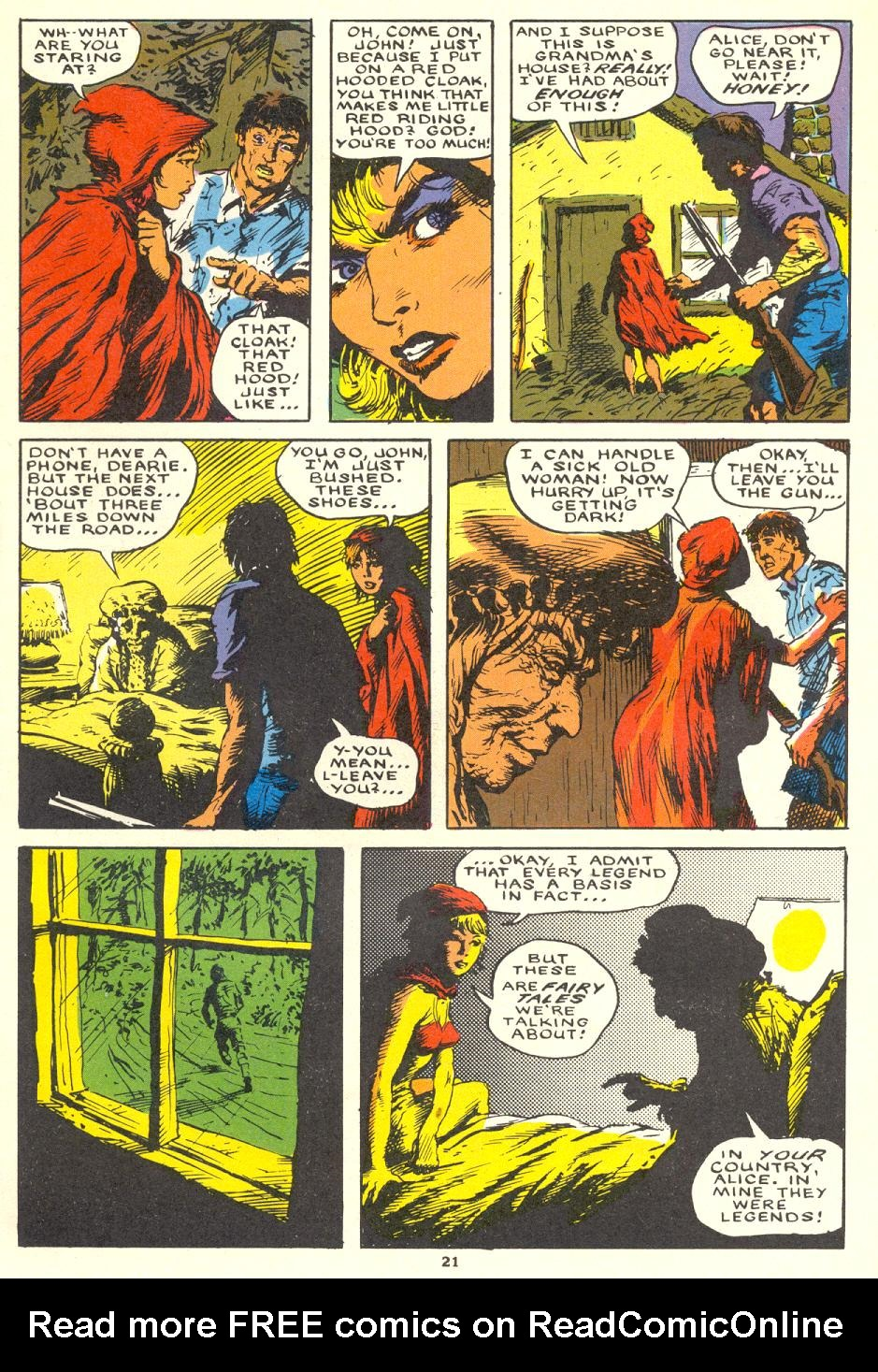 Read online Twisted Tales (1982) comic -  Issue #1 - 22