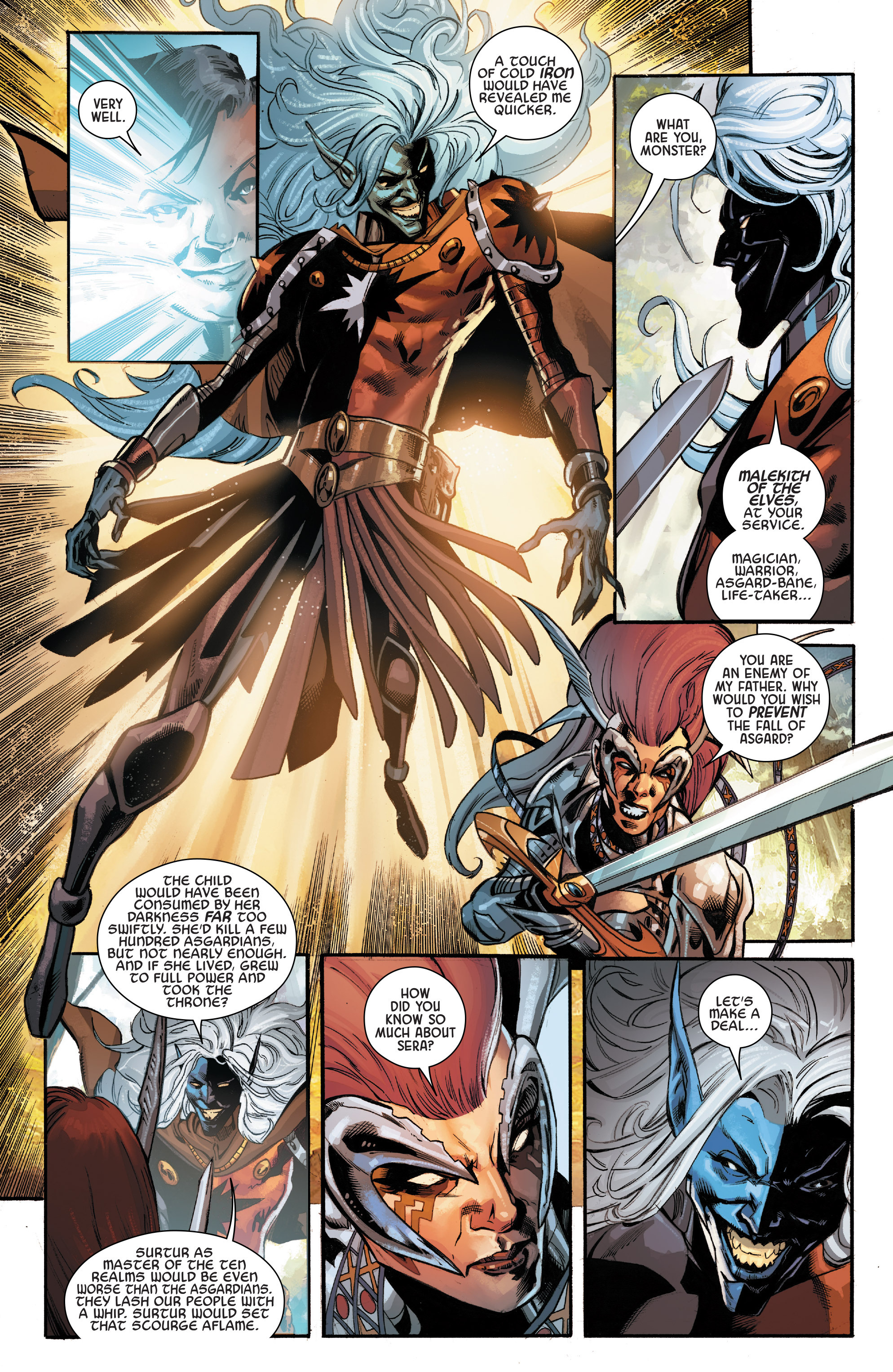 Read online Angela: Asgard's Assassin comic -  Issue #6 - 14