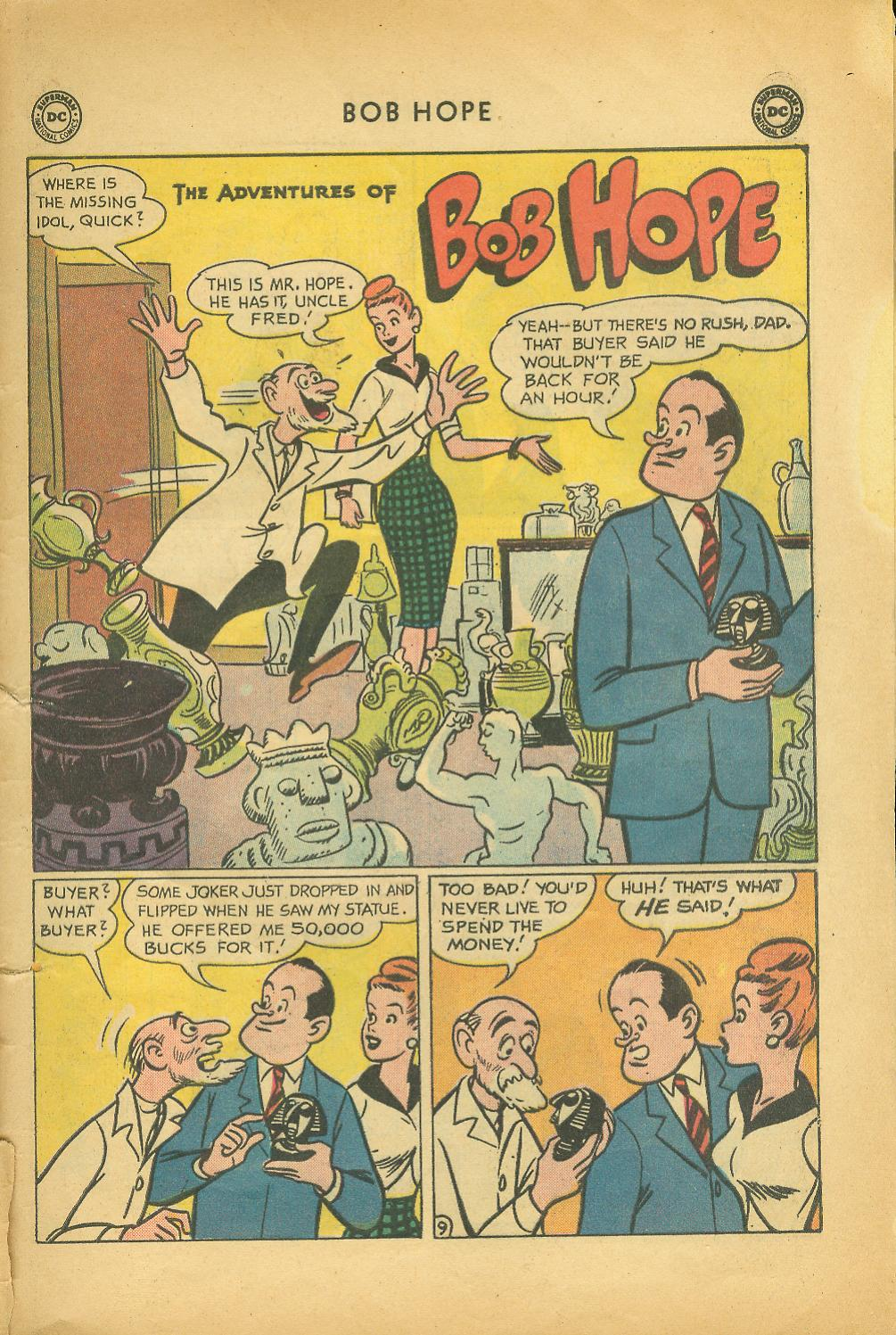 The Adventures of Bob Hope issue 64 - Page 13