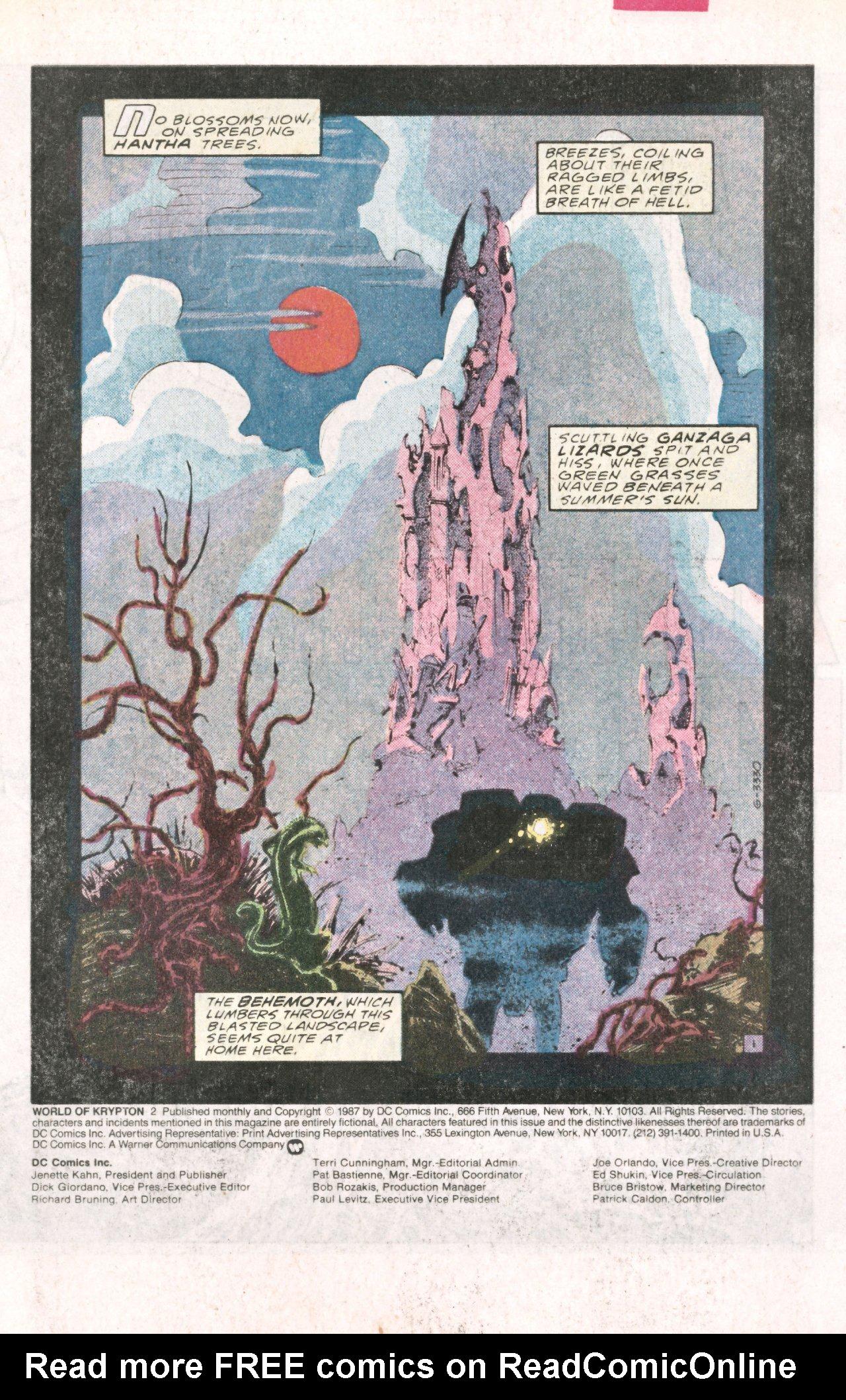 Read online World of Krypton comic -  Issue #2 - 4