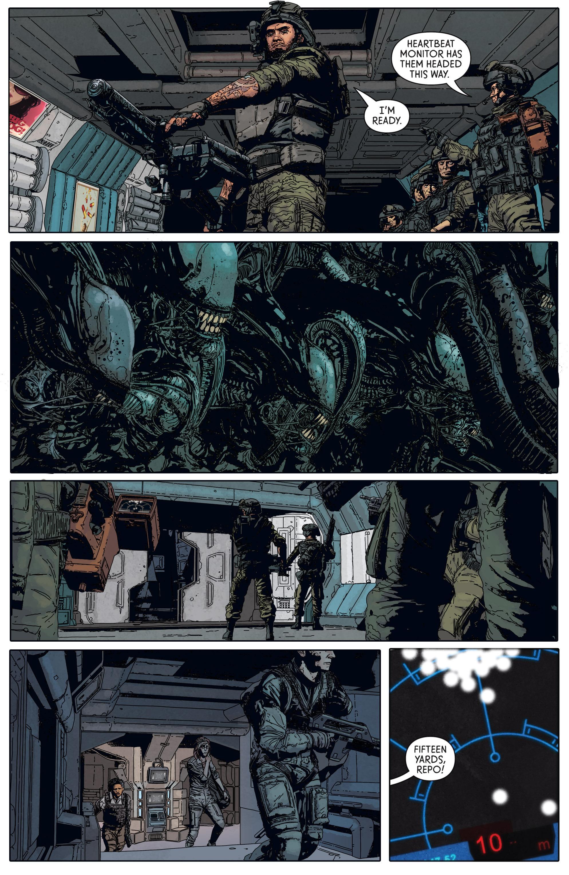 Read online Aliens: Defiance comic -  Issue #5 - 22