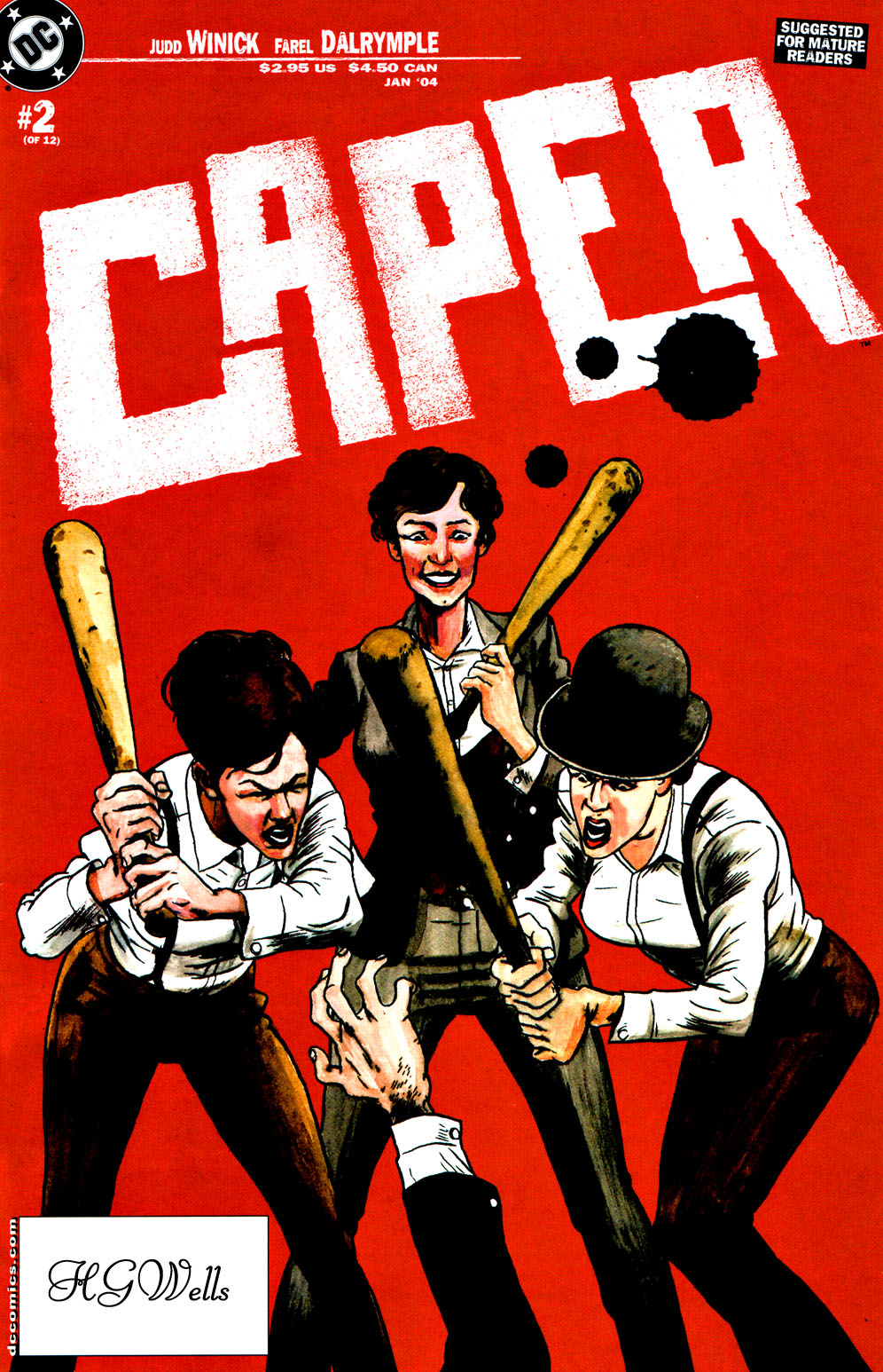 Read online Caper comic -  Issue #2 - 1