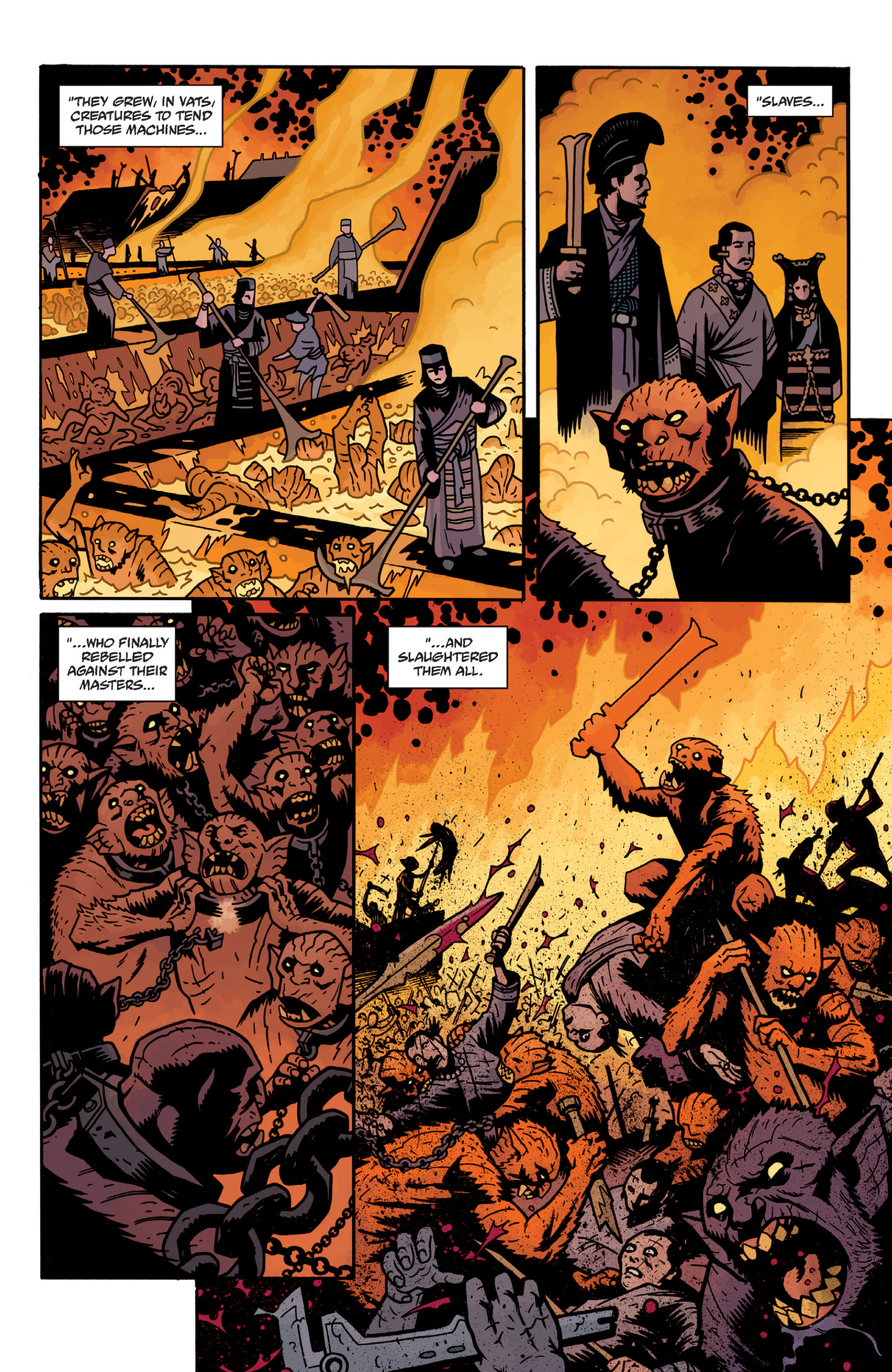 Read online Sir Edward Grey, Witchfinder: In the Service of Angels comic -  Issue # TPB - 75