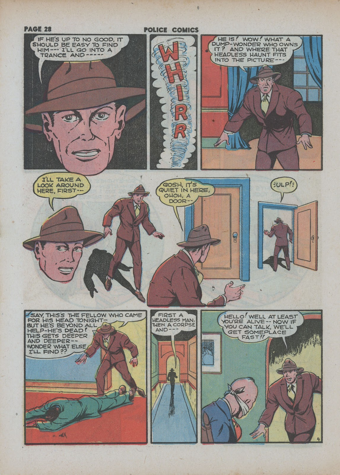 Police Comics issue 18 - Page 30
