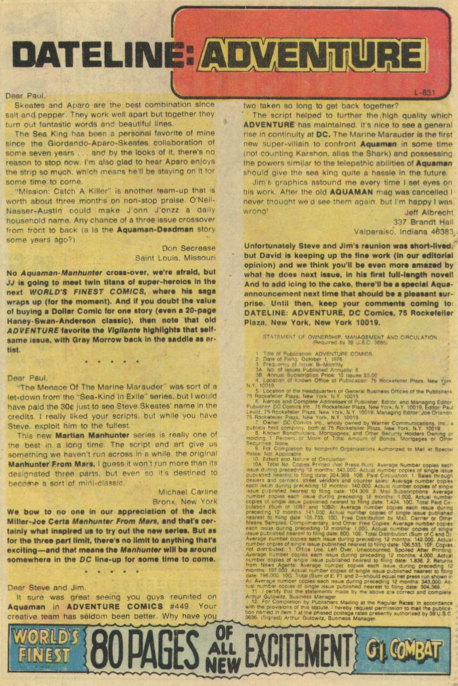 Read online Adventure Comics (1938) comic -  Issue #451 - 33