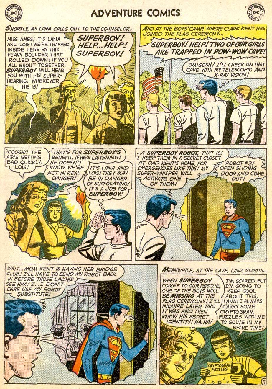 Read online Adventure Comics (1938) comic -  Issue #261 - 9