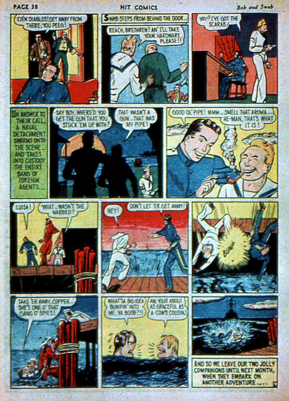 Read online Hit Comics comic -  Issue #3 - 40