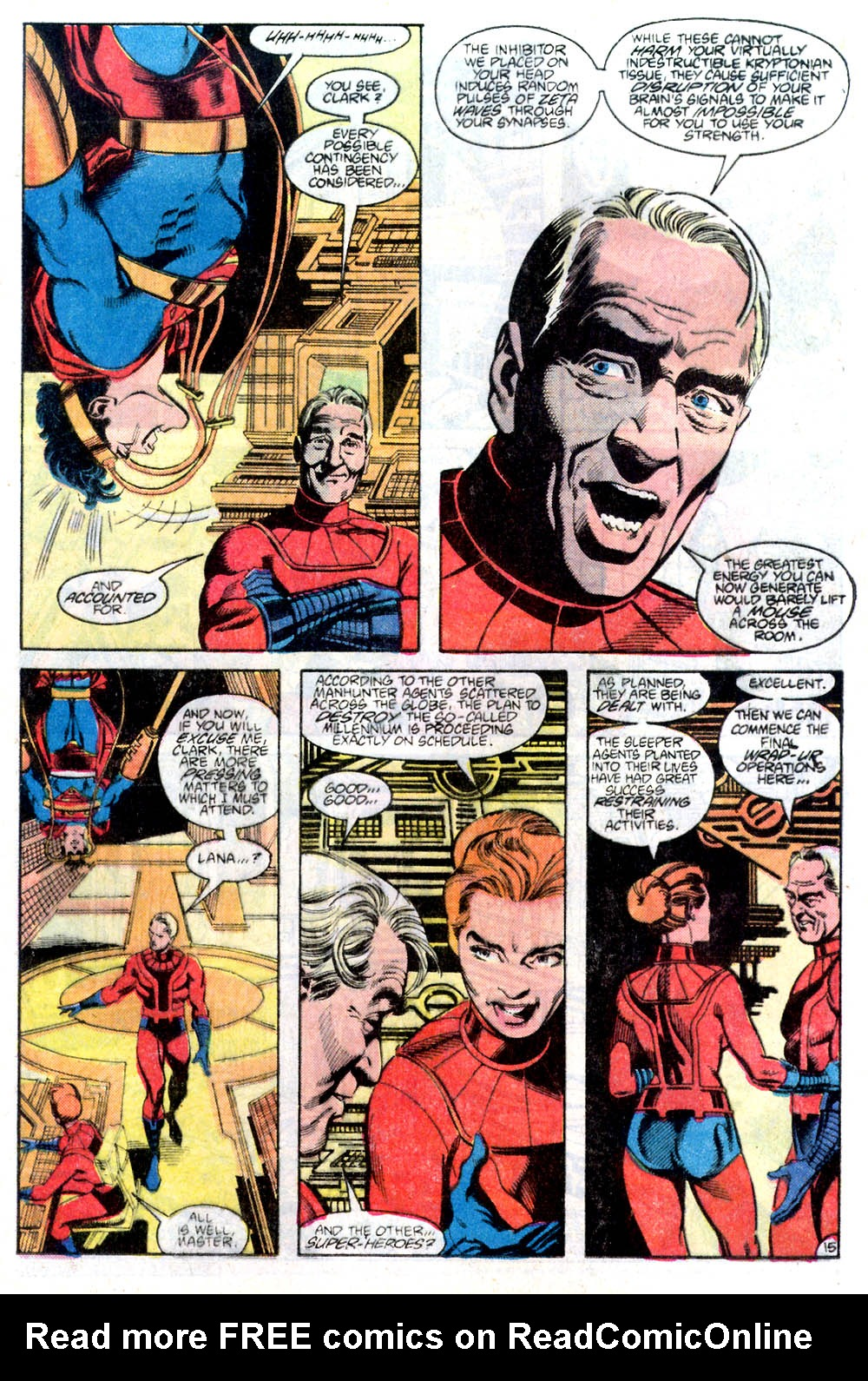 Read online Adventures of Superman (1987) comic -  Issue #436 - 16