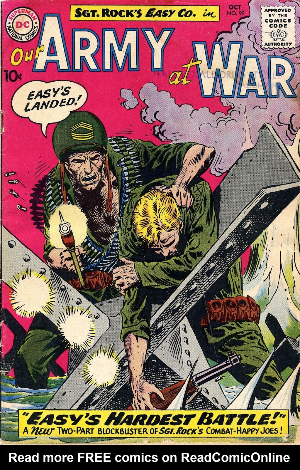 Our Army at War (1952) issue 99 - Page 1