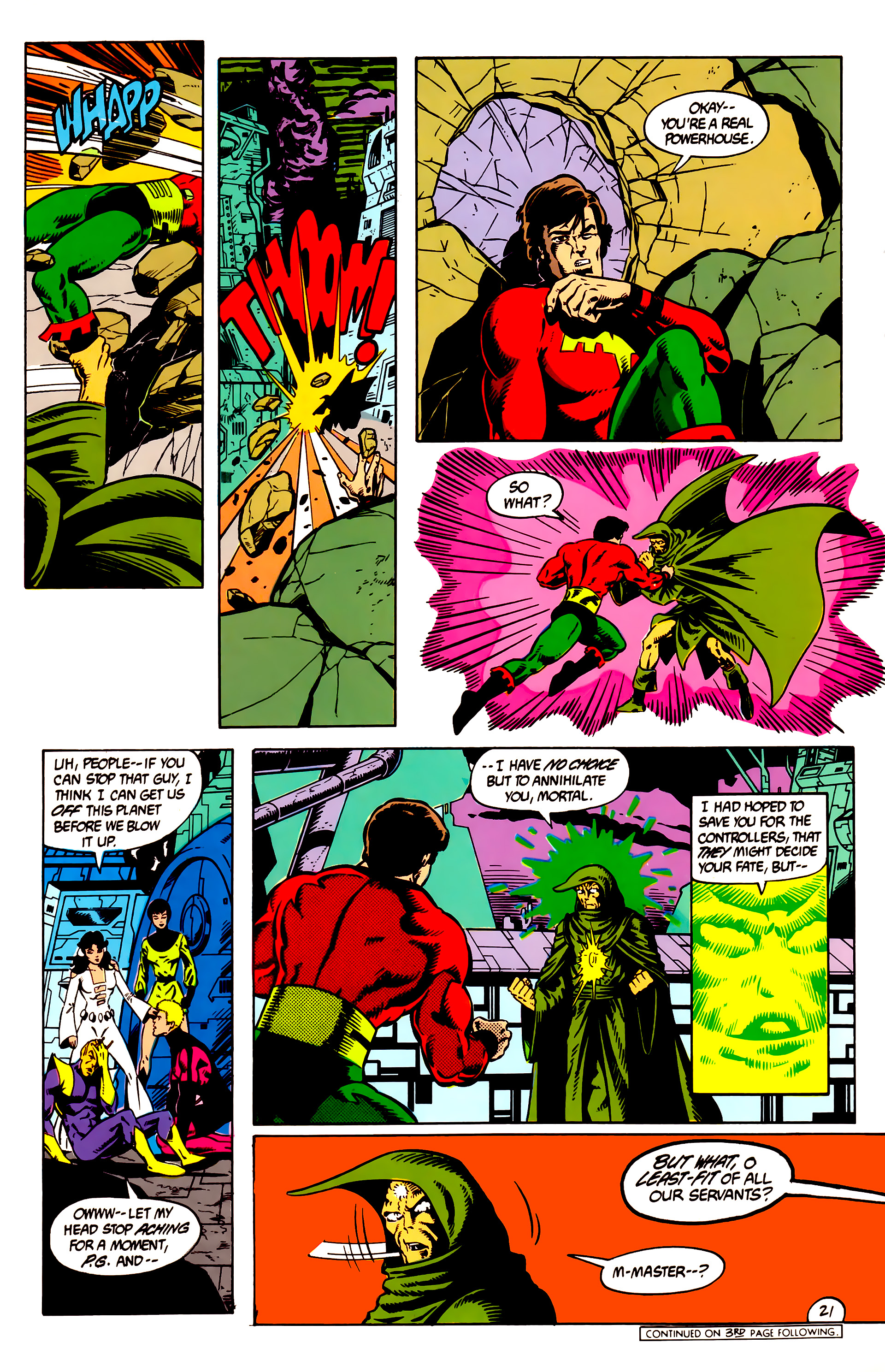 Legion of Super-Heroes (1984) 8 Page 22
