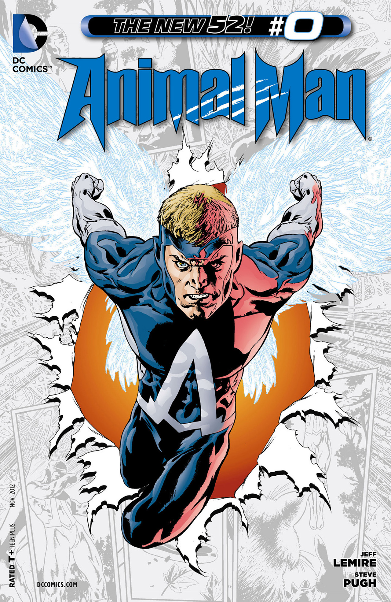 Read online Animal Man (2011) comic -  Issue #0 - 1