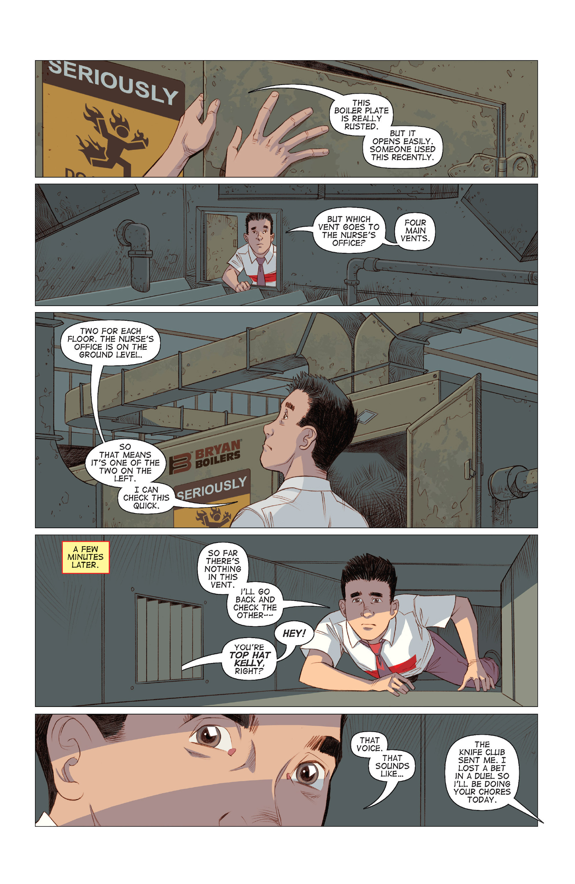 Read online Five Weapons comic -  Issue #8 - 15