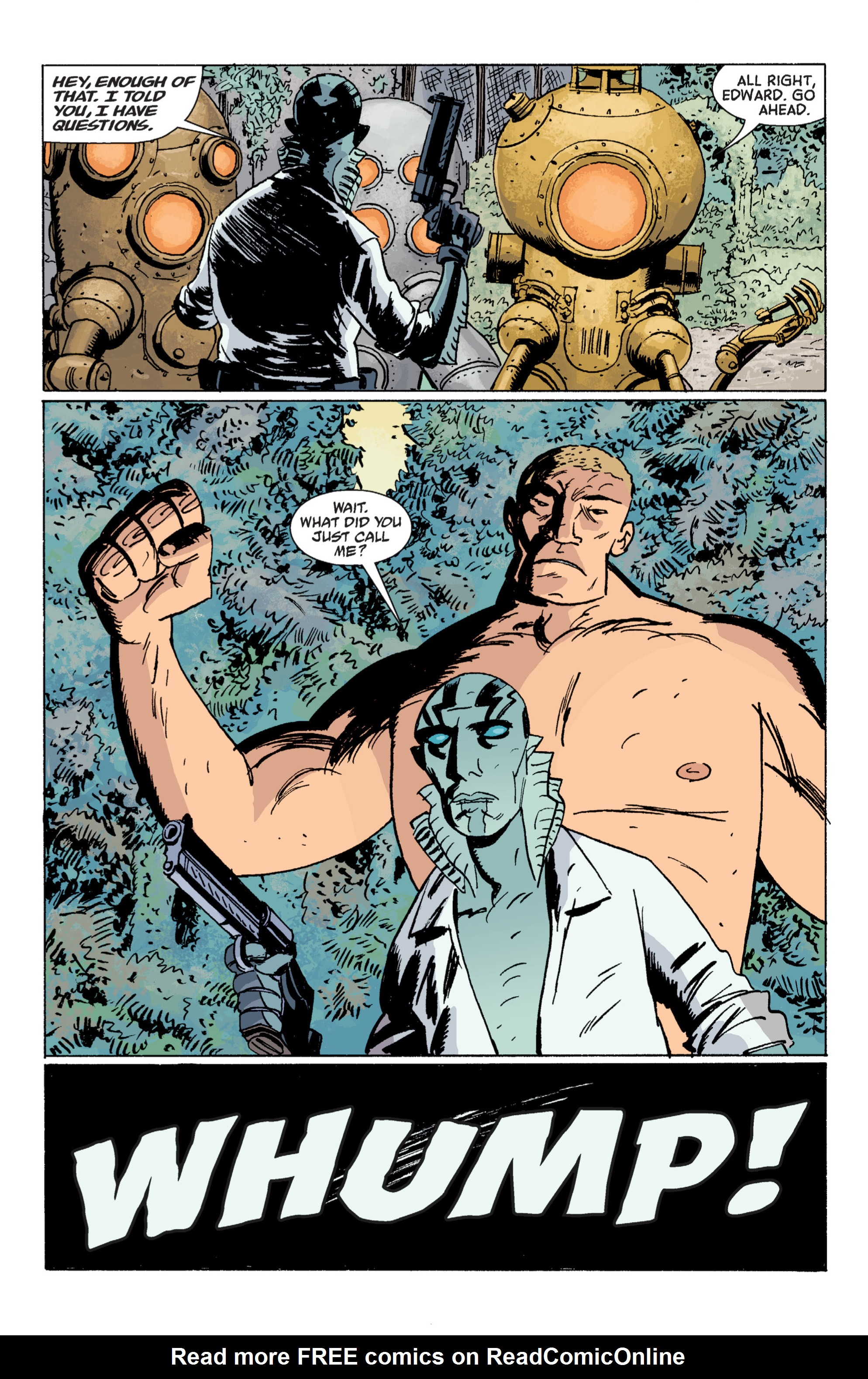 Read online B.P.R.D. (2003) comic -  Issue # TPB 7 - 73