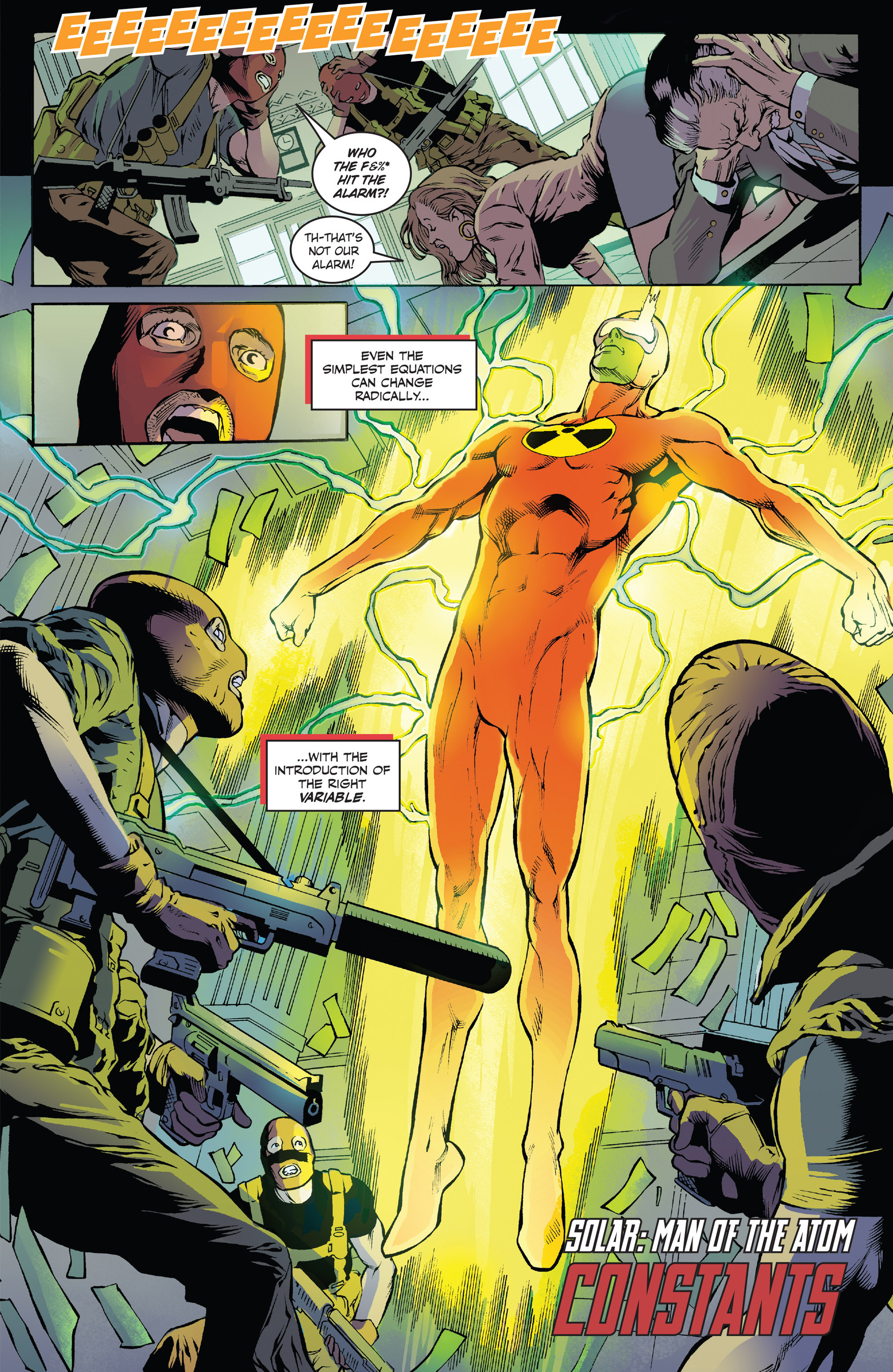 Read online Solar: Man of the Atom (2014) comic -  Issue #1 - 7