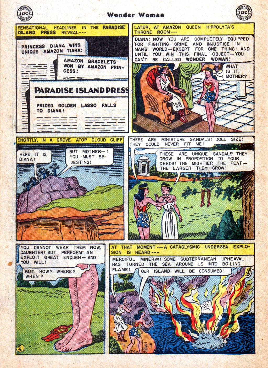 Read online Wonder Woman (1942) comic -  Issue #72 - 28
