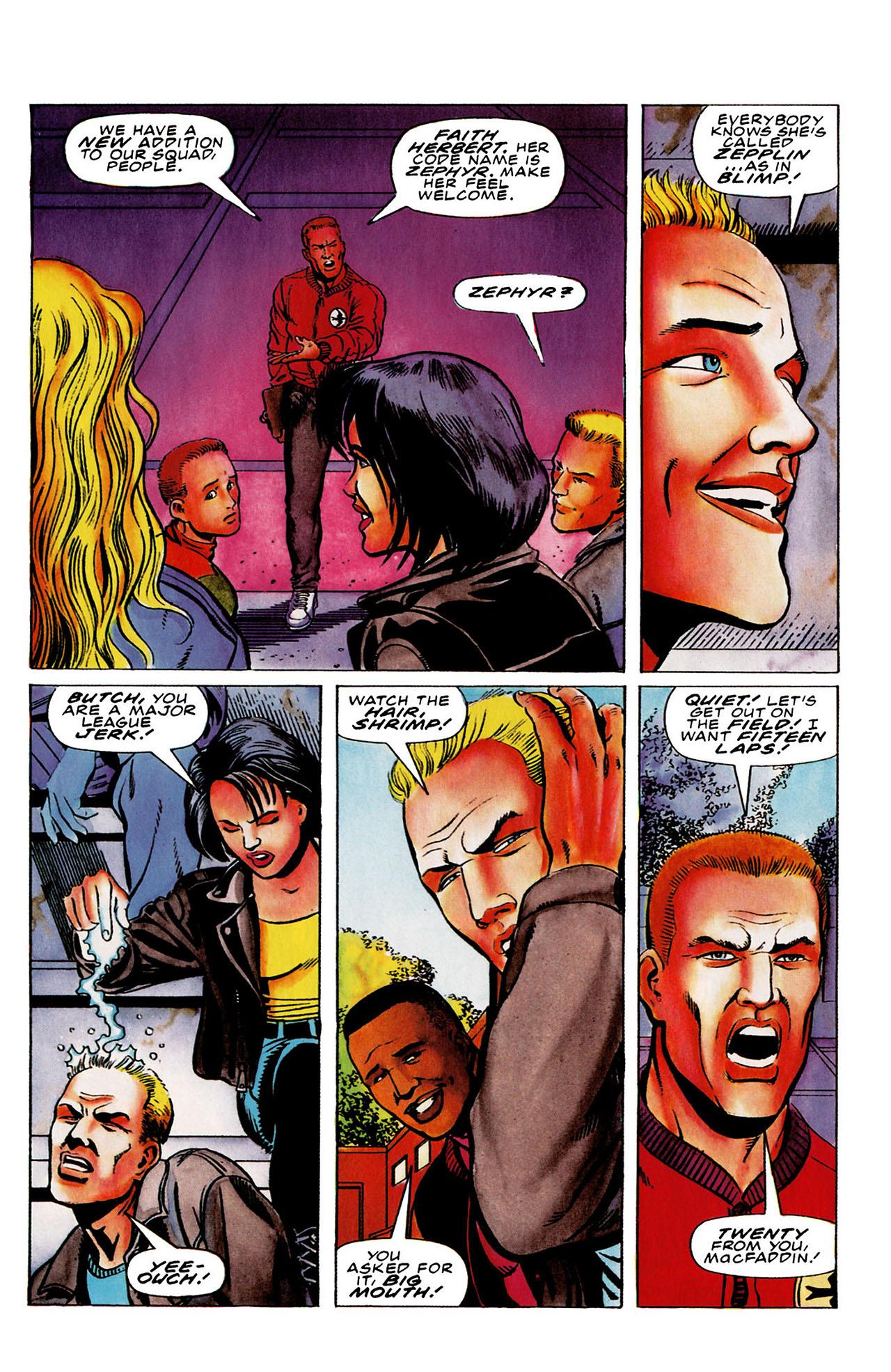 Read online Harbinger (1992) comic -  Issue #26 - 12