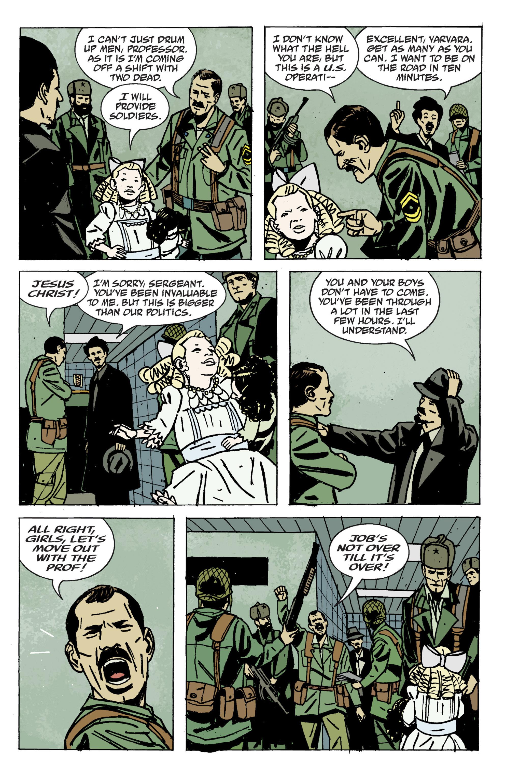 Read online B.P.R.D. (2003) comic -  Issue # TPB 9 - 101