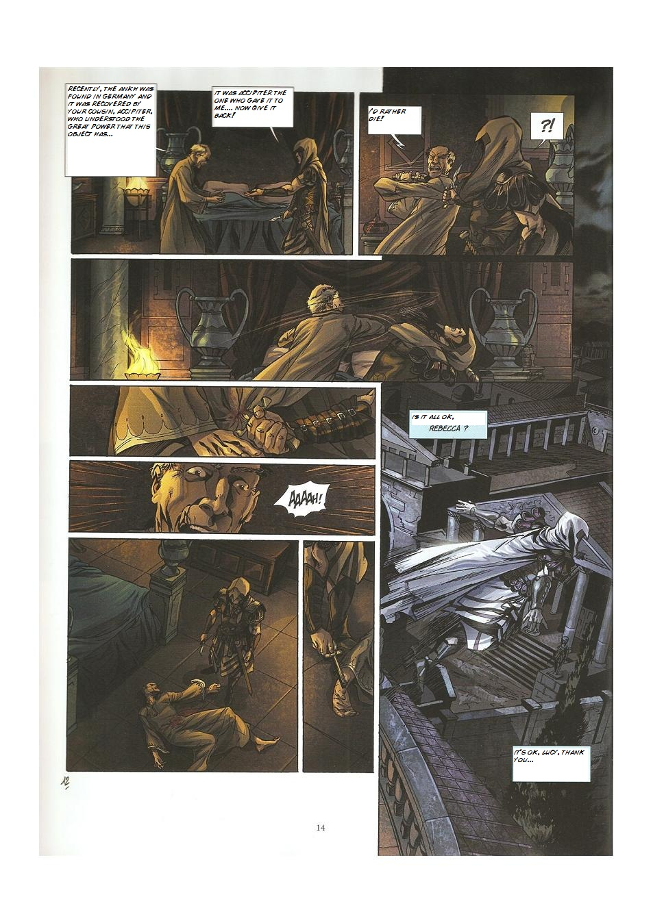 Read online Assassin's Creed (2009) comic -  Issue #3 - 14