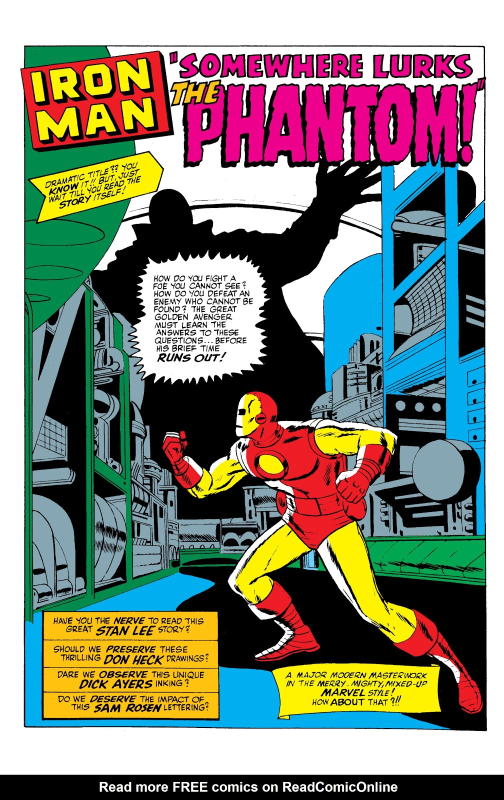 Read online Marvel Masterworks: The Invincible Iron Man comic -  Issue # TPB 2 (Part 3) - 1