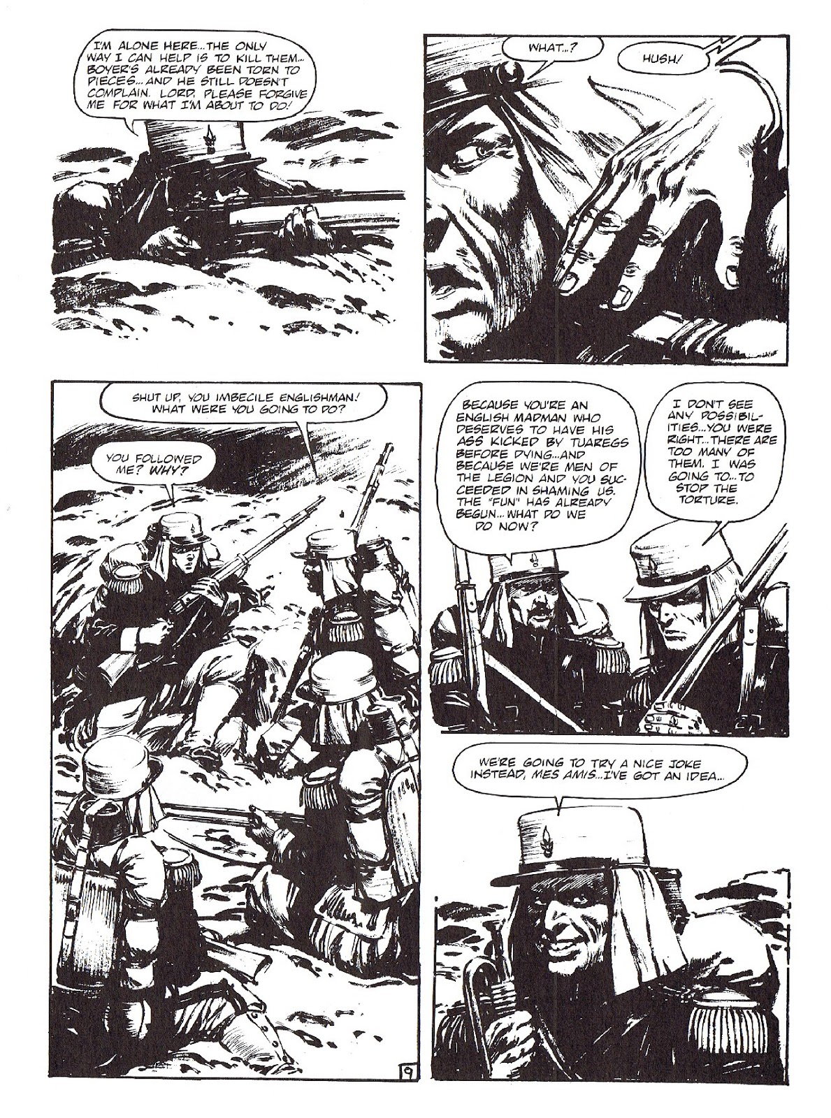 Read online Merchants of Death comic -  Issue #4 - 11