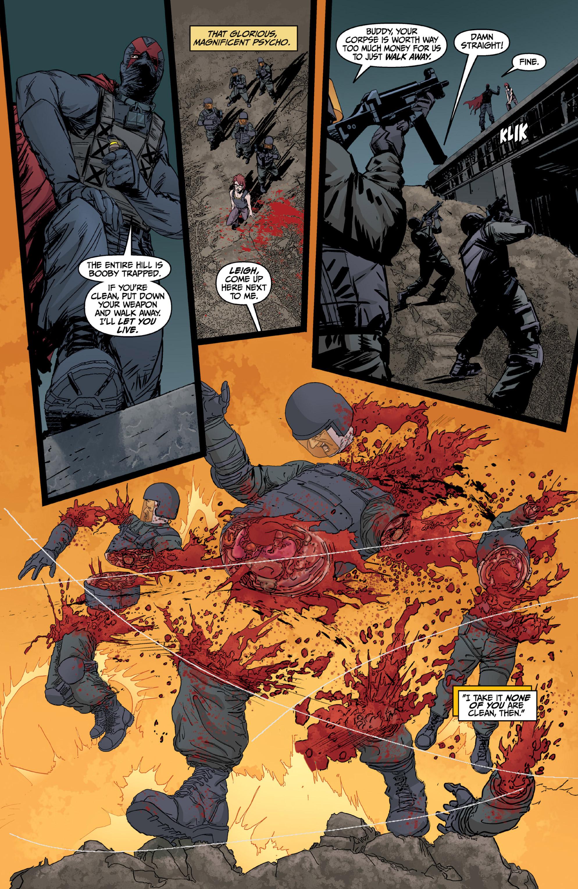 Read online X: Big Bad comic -  Issue # Full - 98