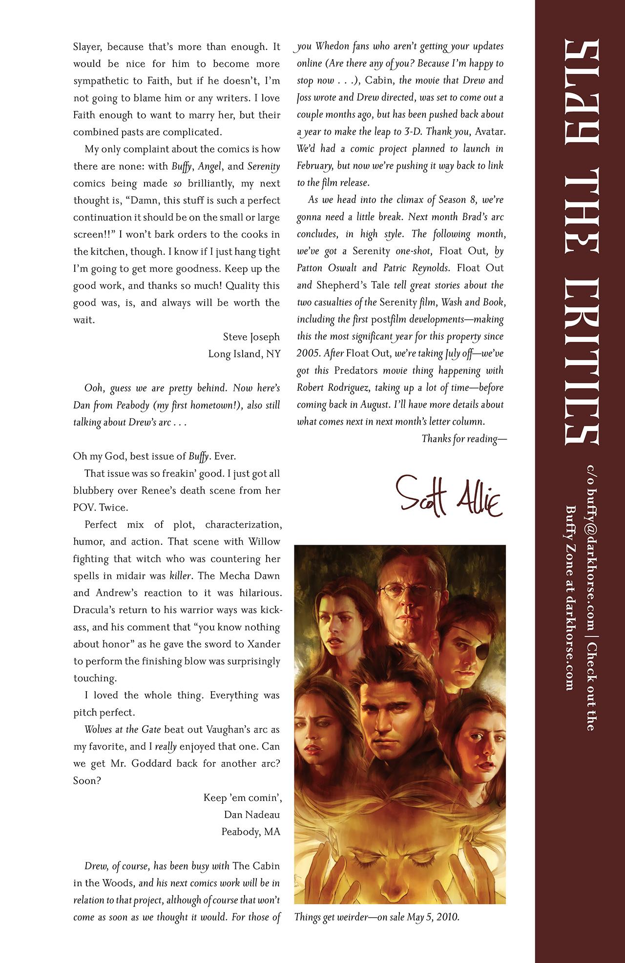 Buffy the Vampire Slayer Season Eight 34 Page 29