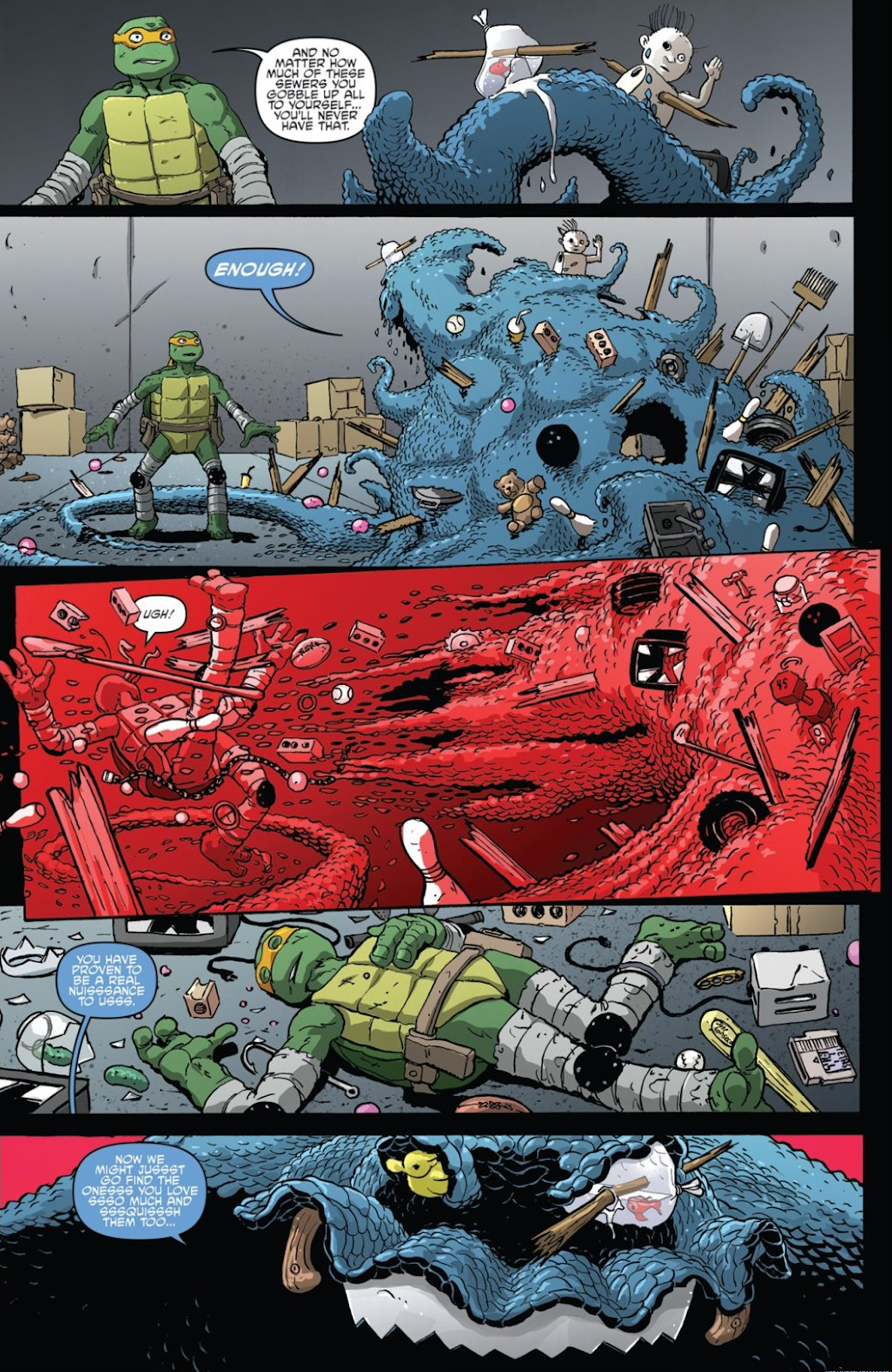 Read online Teenage Mutant Ninja Turtles: The IDW Collection comic -  Issue # TPB 8 (Part 3) - 86