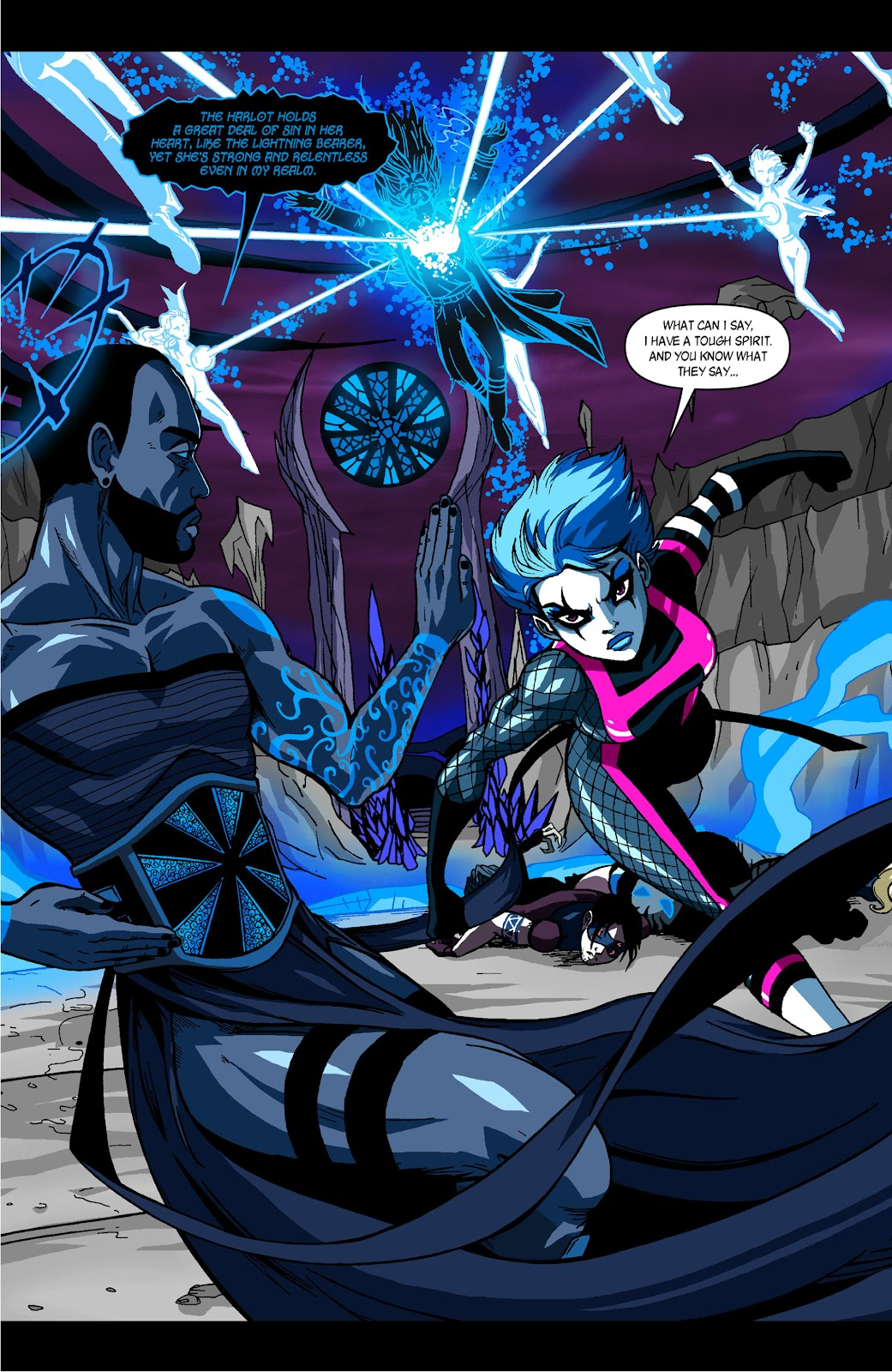 Sentinels issue 3 - Page 2
