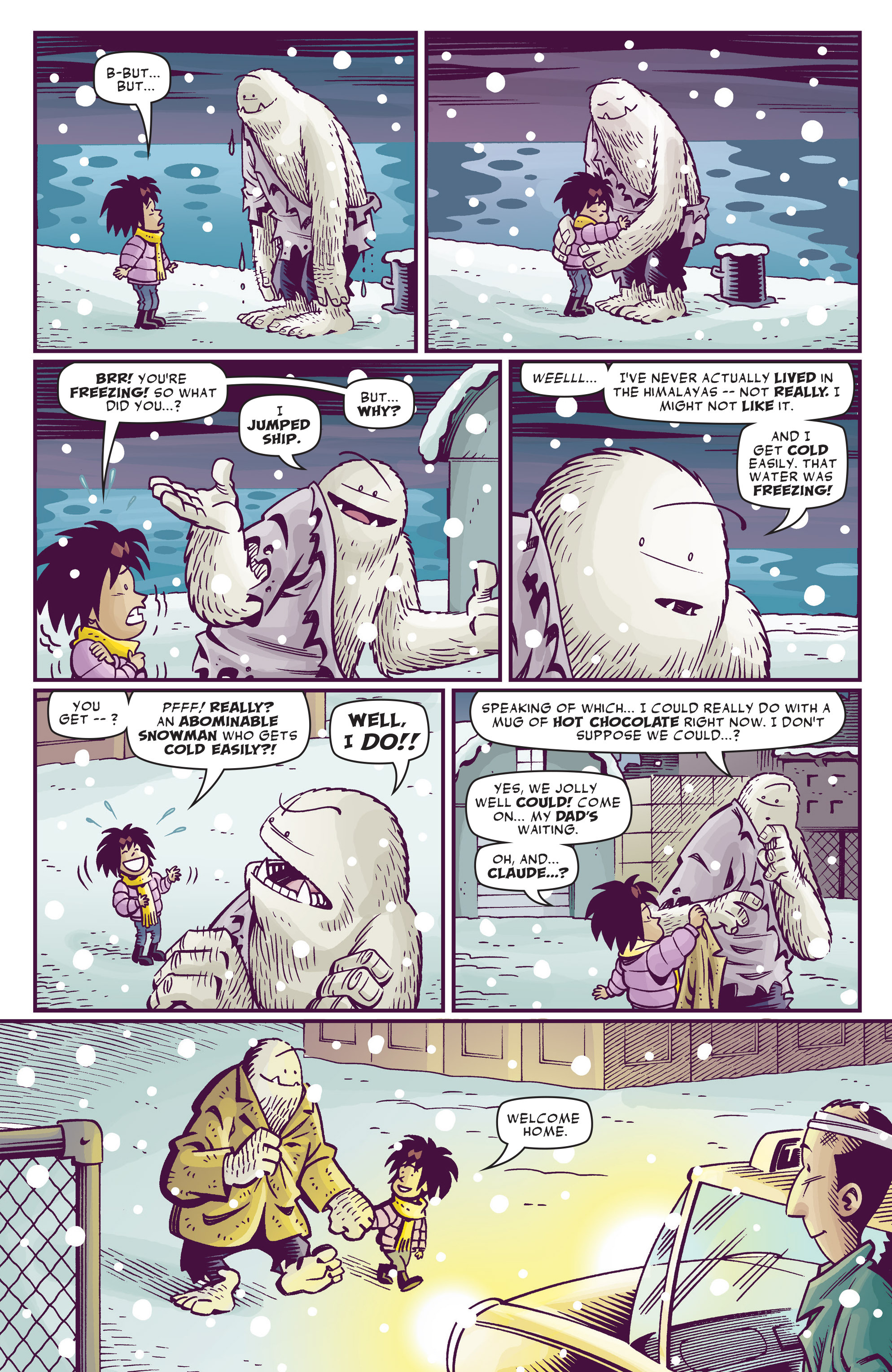 Read online Abigail And The Snowman comic -  Issue #4 - 37