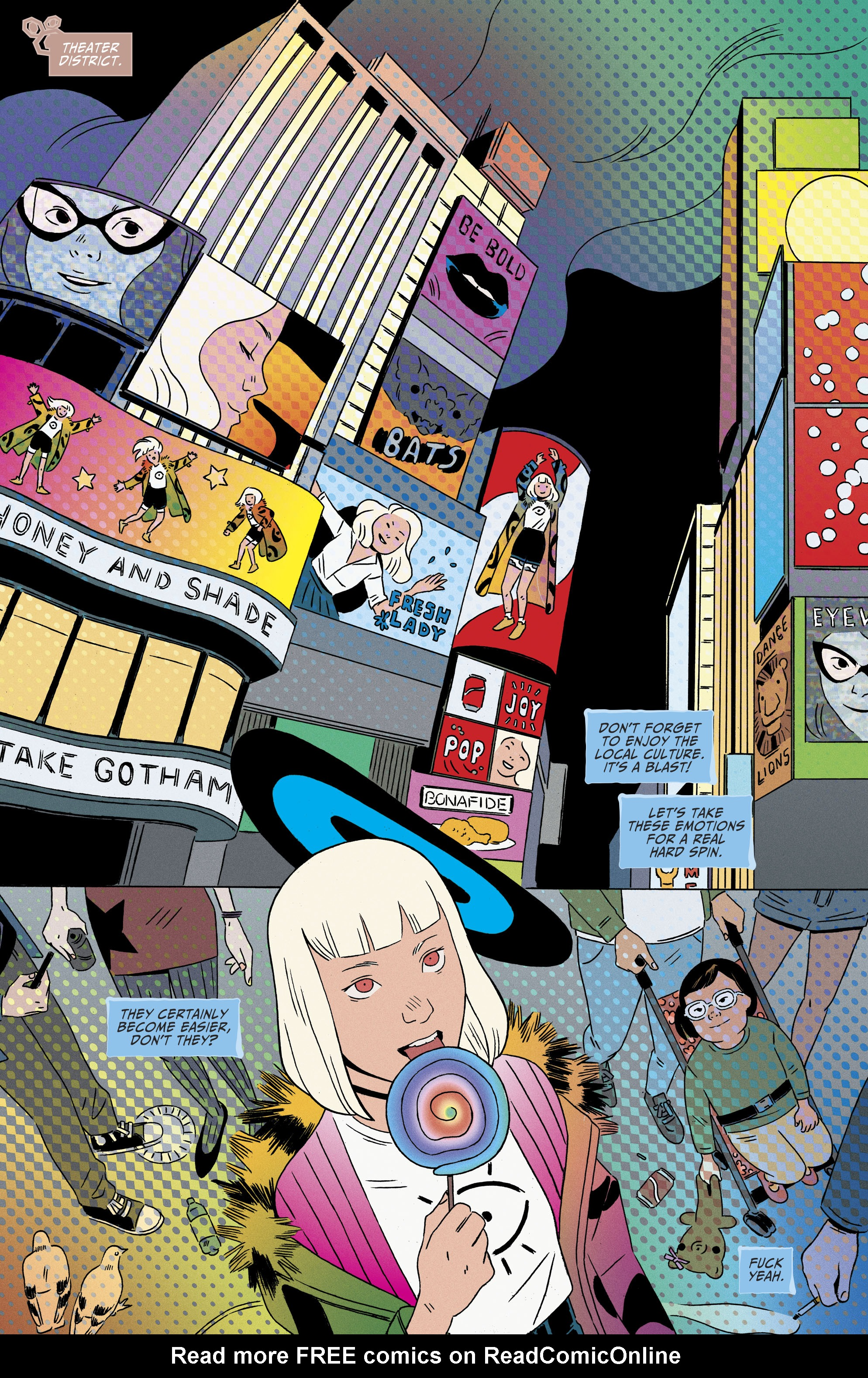 Read online Shade, the Changing Girl comic -  Issue #8 - 14