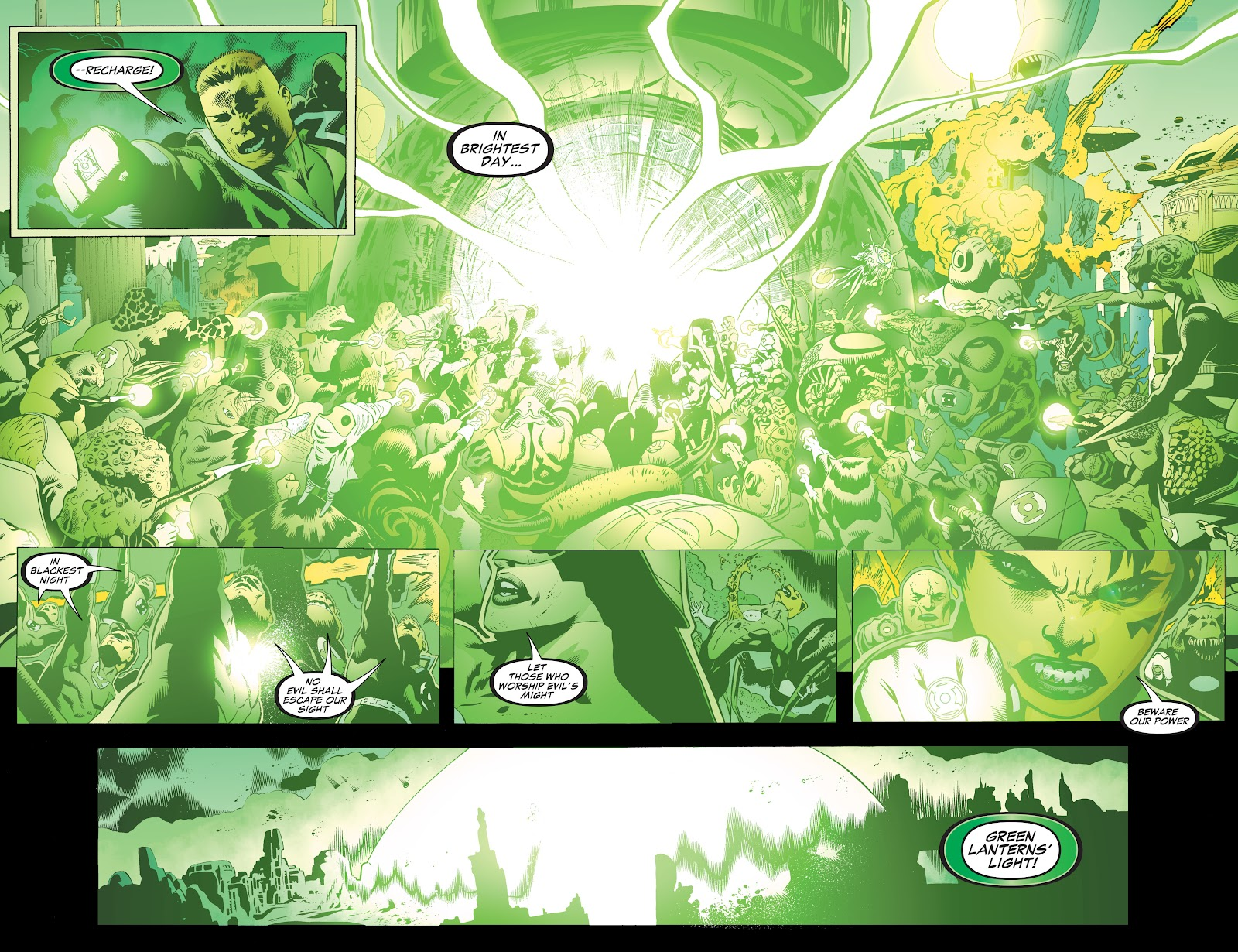 Read online Green Lantern by Geoff Johns comic -  Issue # TPB 1 (Part 3) - 81