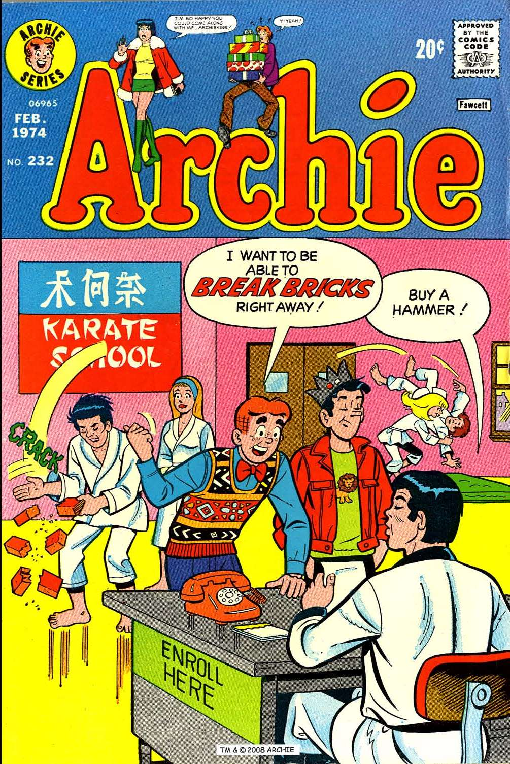 Read online Archie (1960) comic -  Issue #232 - 1