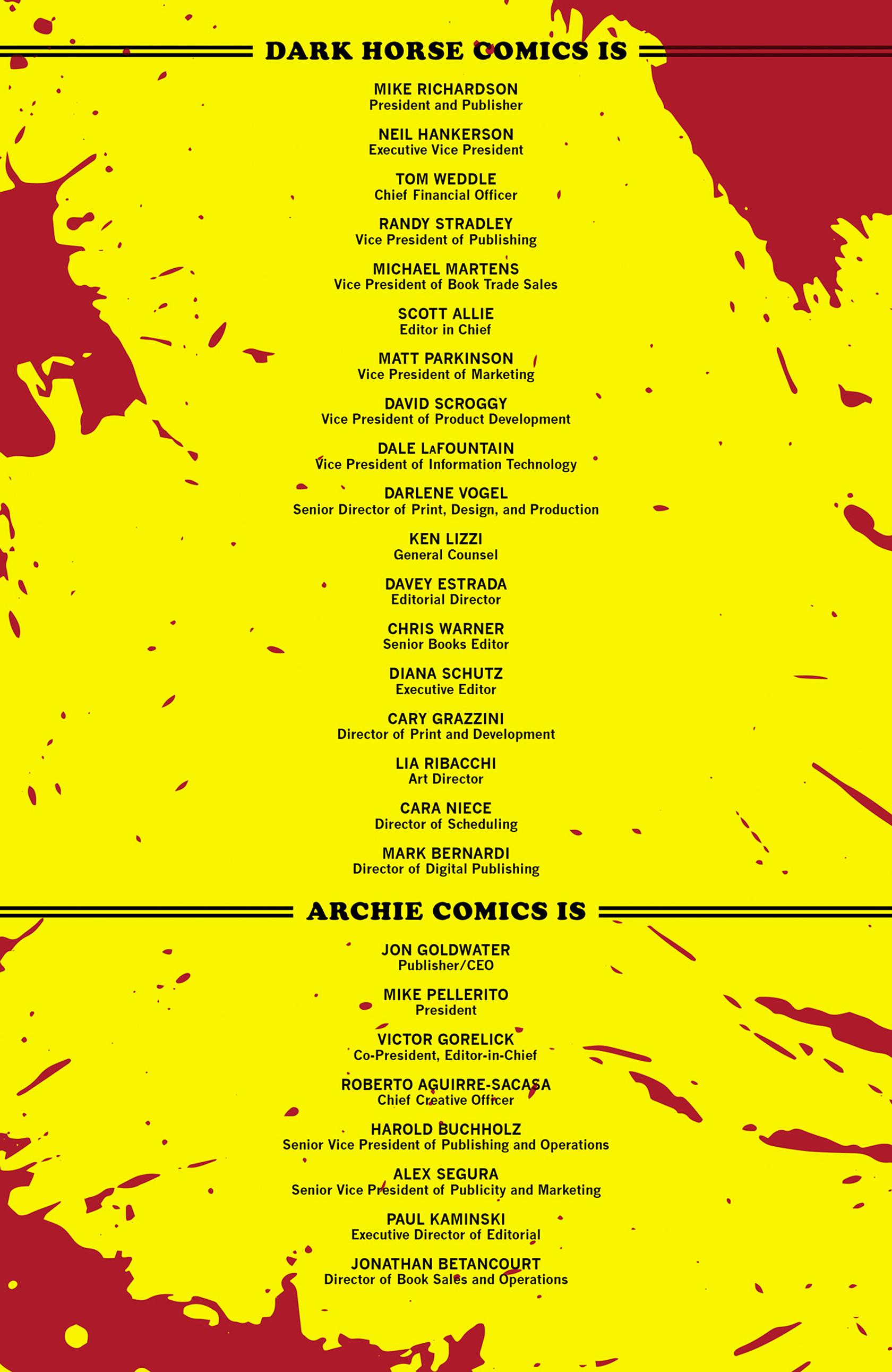 Read online Archie vs. Predator comic -  Issue #1 - 26