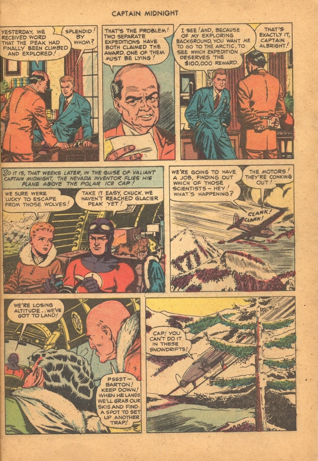 Captain Midnight (1942) issue 61 - Page 5