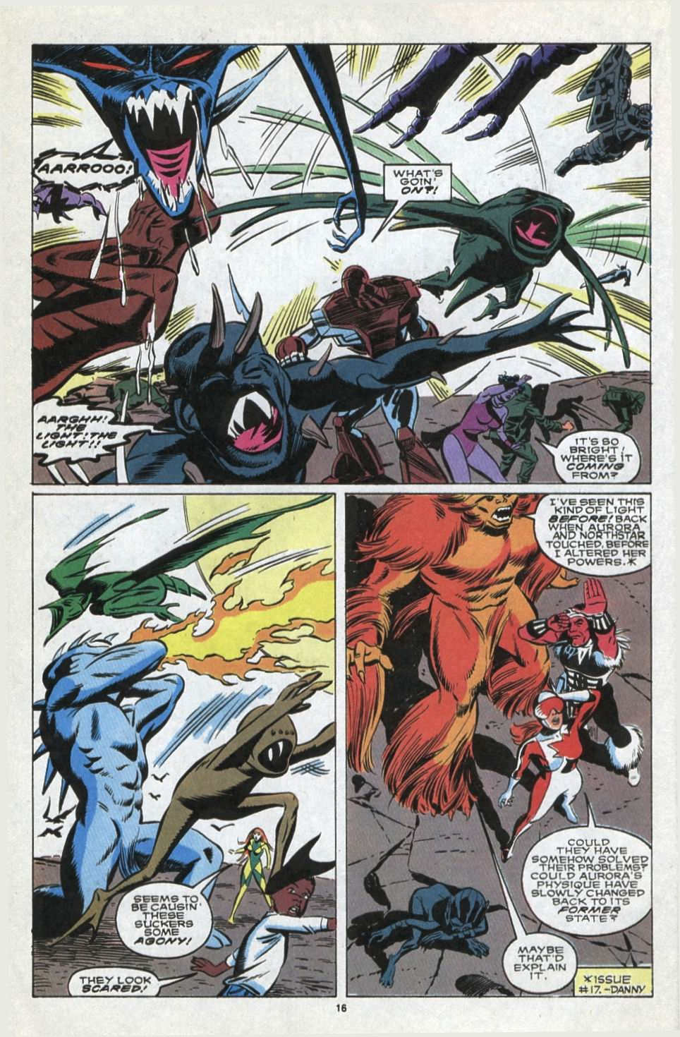Read online Alpha Flight (1983) comic -  Issue #85 - 14