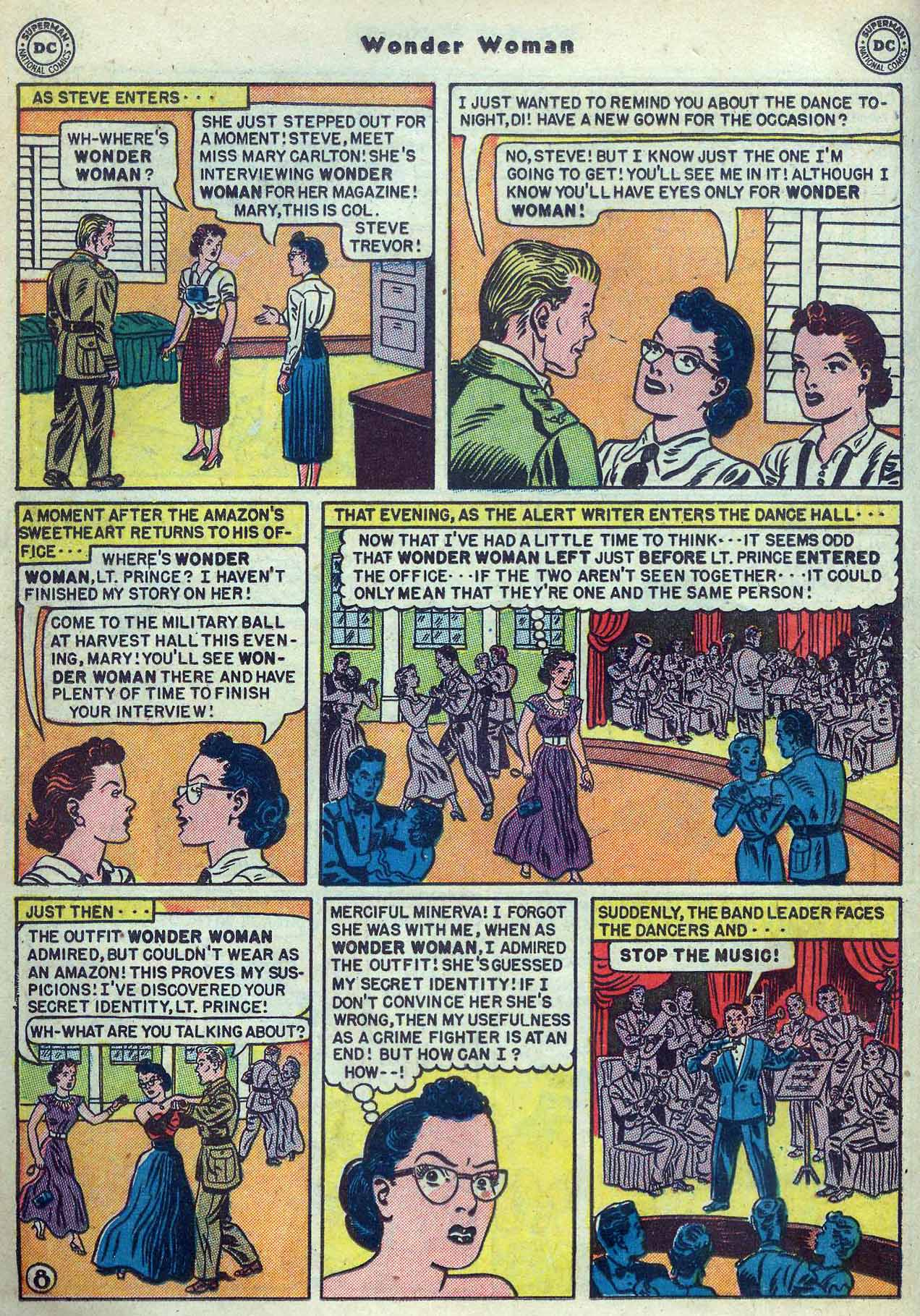 Read online Wonder Woman (1942) comic -  Issue #53 - 22