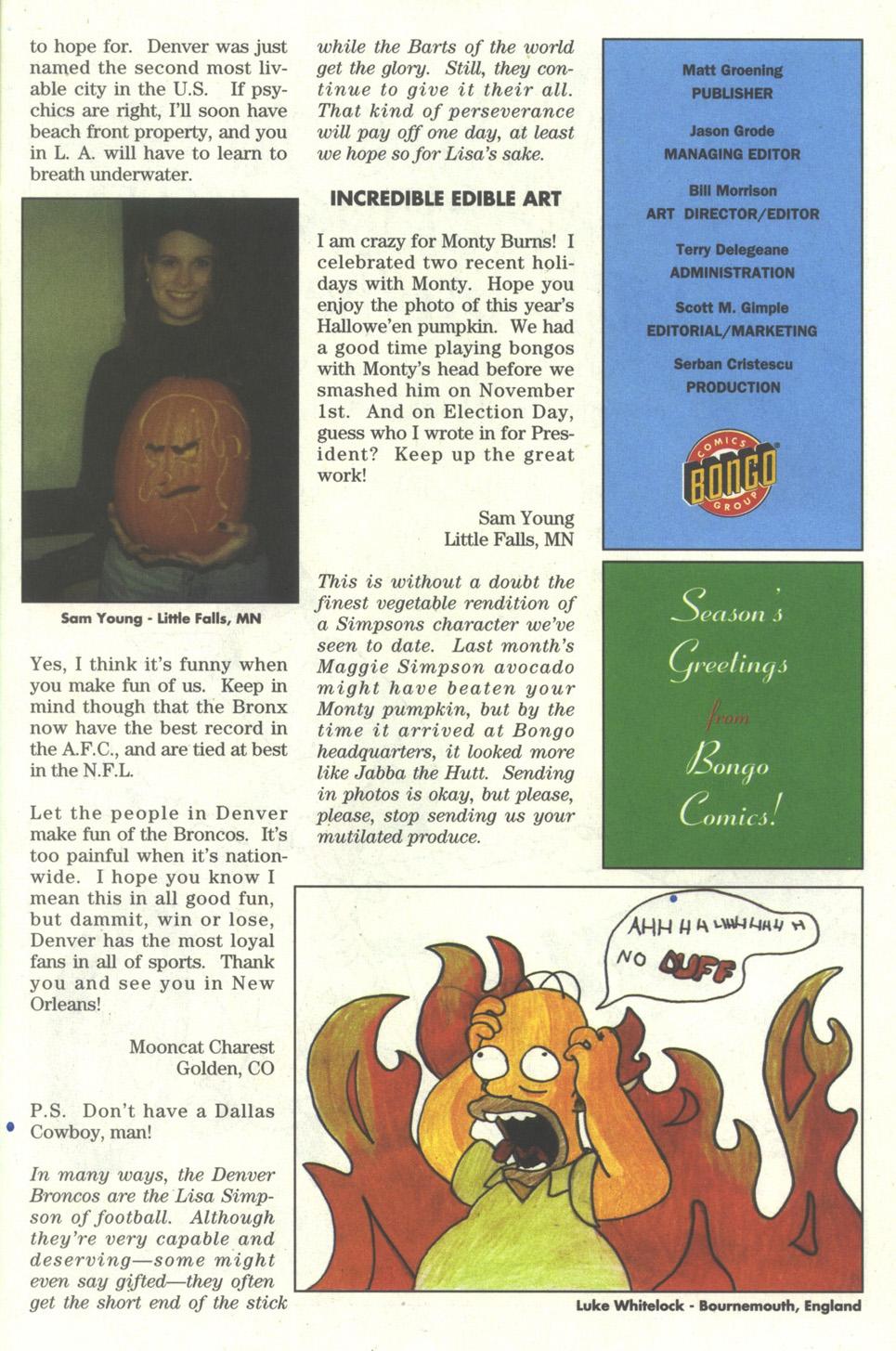 Read online Simpsons Comics comic -  Issue #27 - 25