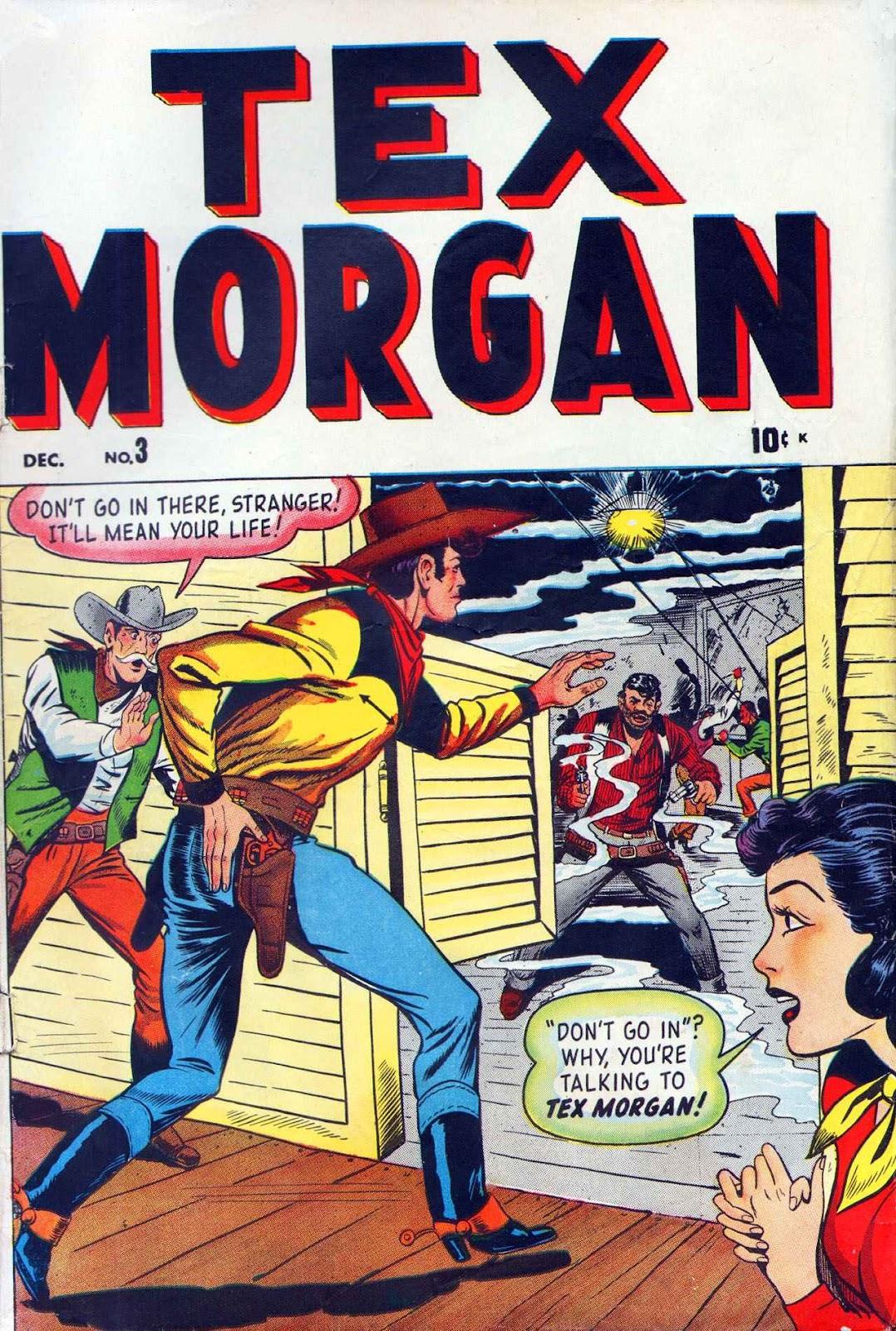 Tex Morgan issue 3 - Page 1