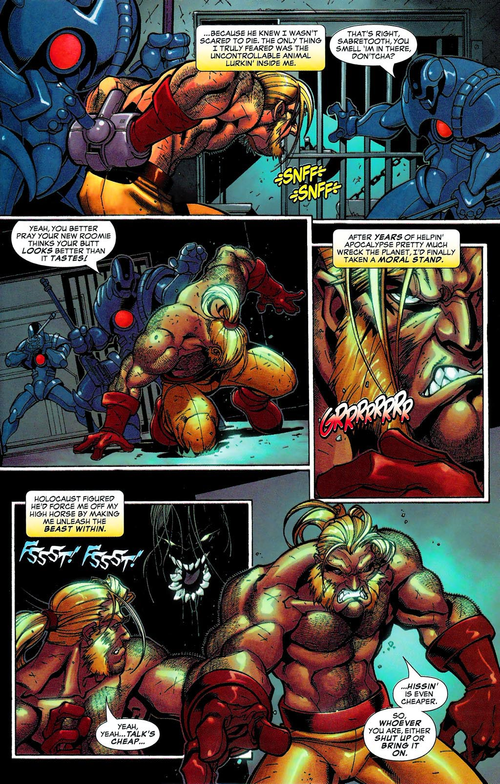 Read online Age of Apocalypse (2005) comic -  Issue #0 - 11