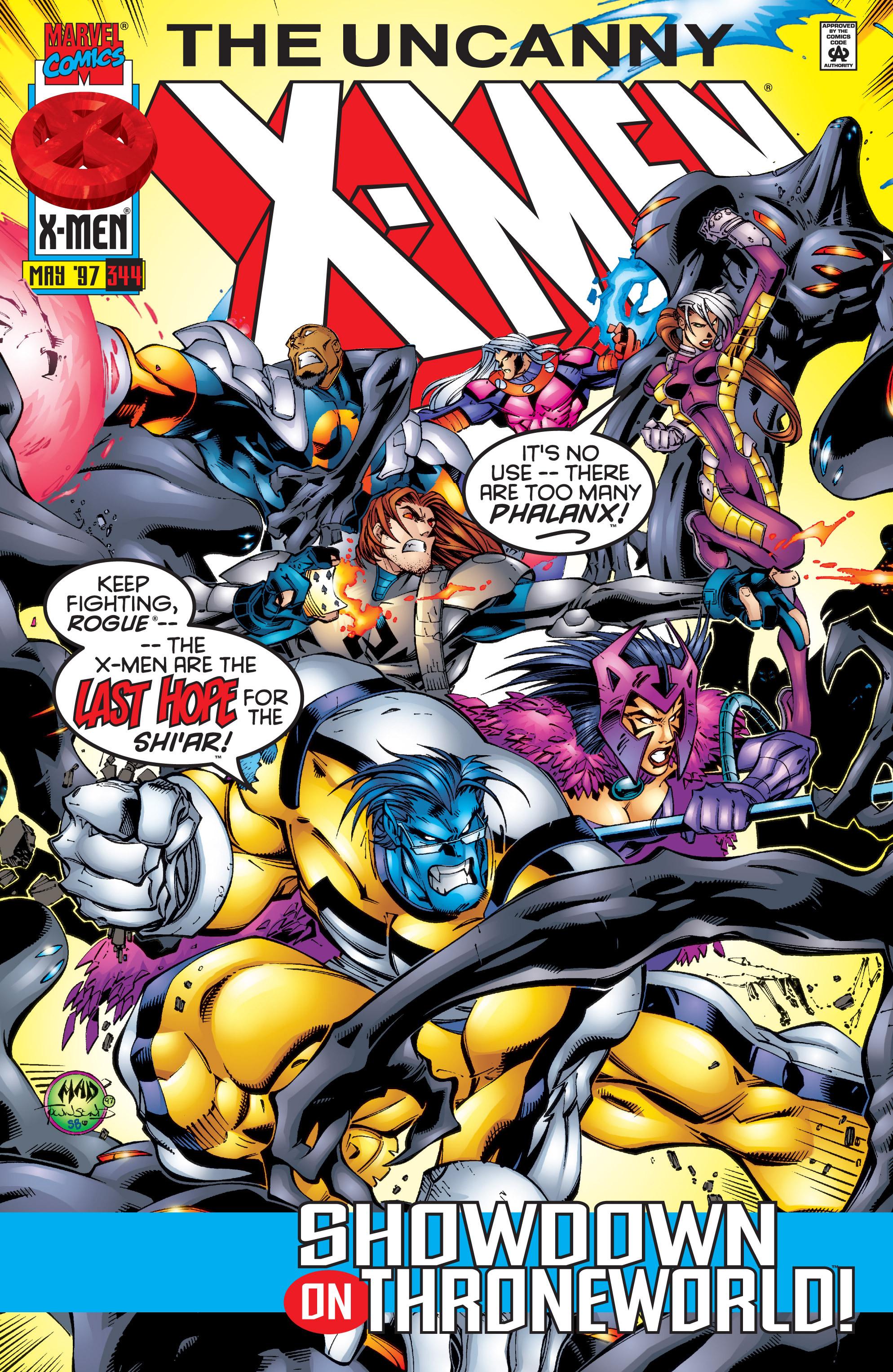 Read online Uncanny X-Men (1963) comic -  Issue #344 - 1