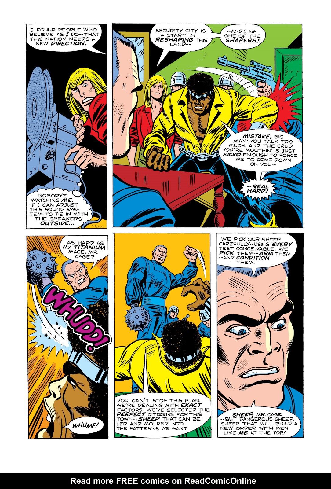 Read online Marvel Masterworks: Luke Cage, Power Man comic -  Issue # TPB 2 (Part 2) - 39
