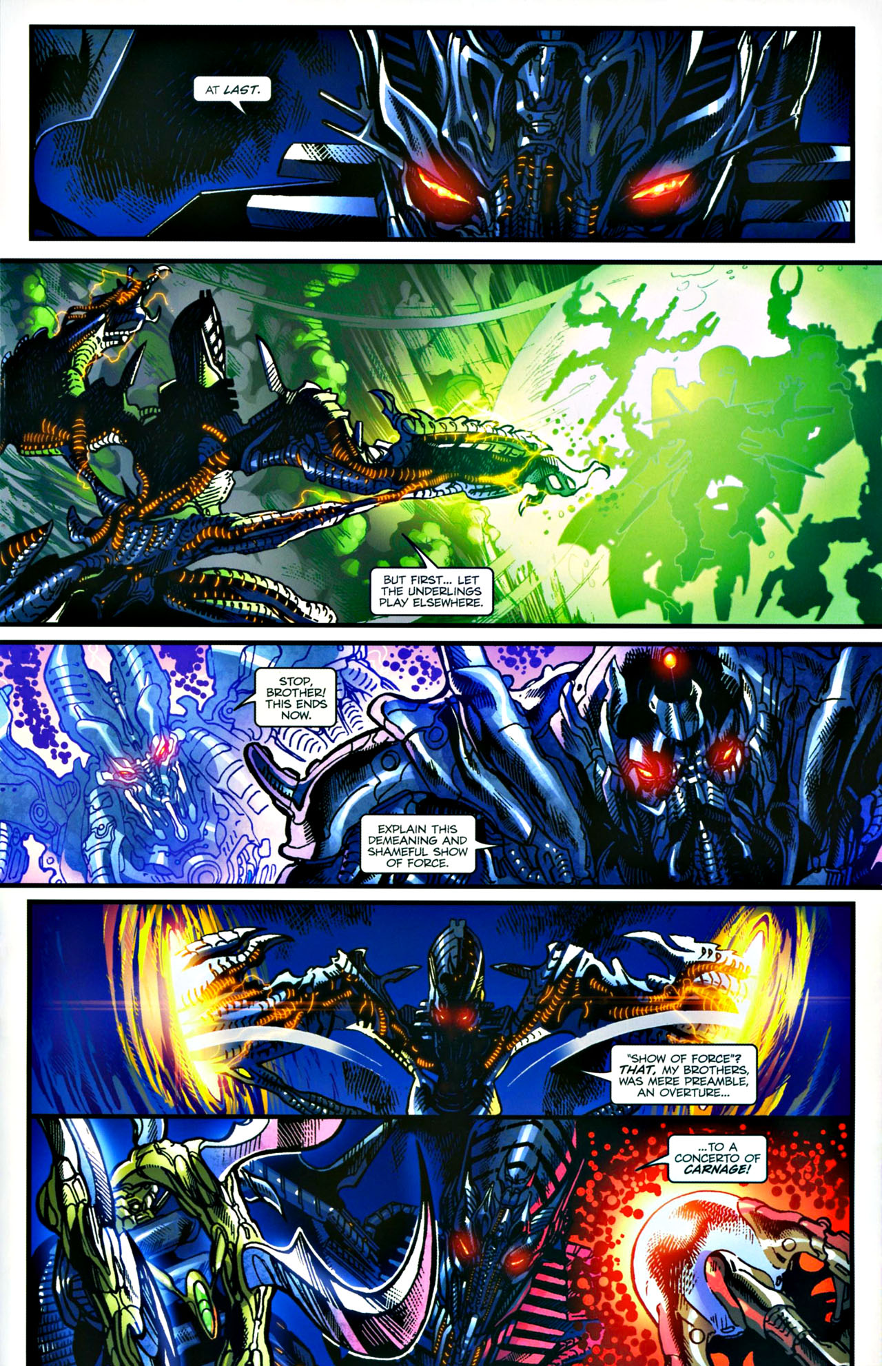 Read online Transformers: Tales of The Fallen comic -  Issue #4 - 16
