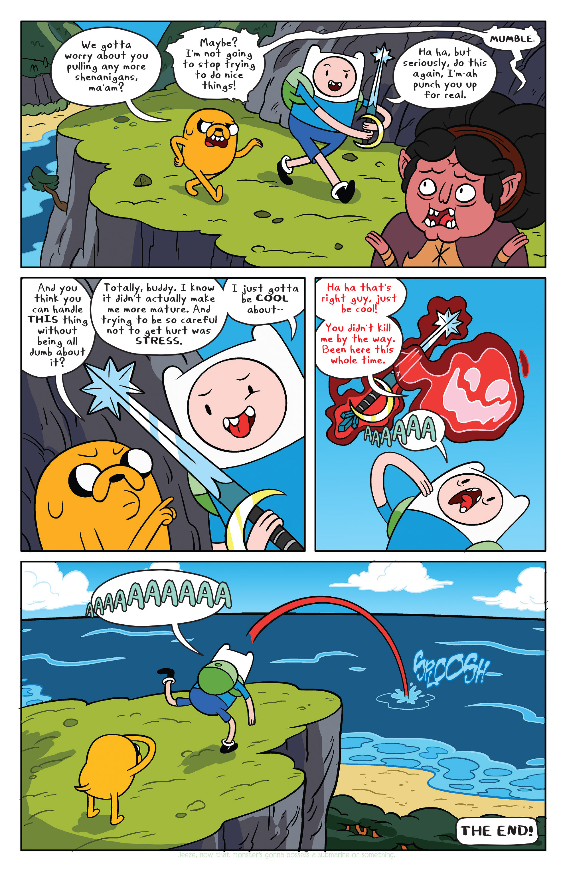 Read online Adventure Time comic -  Issue #39 - 18