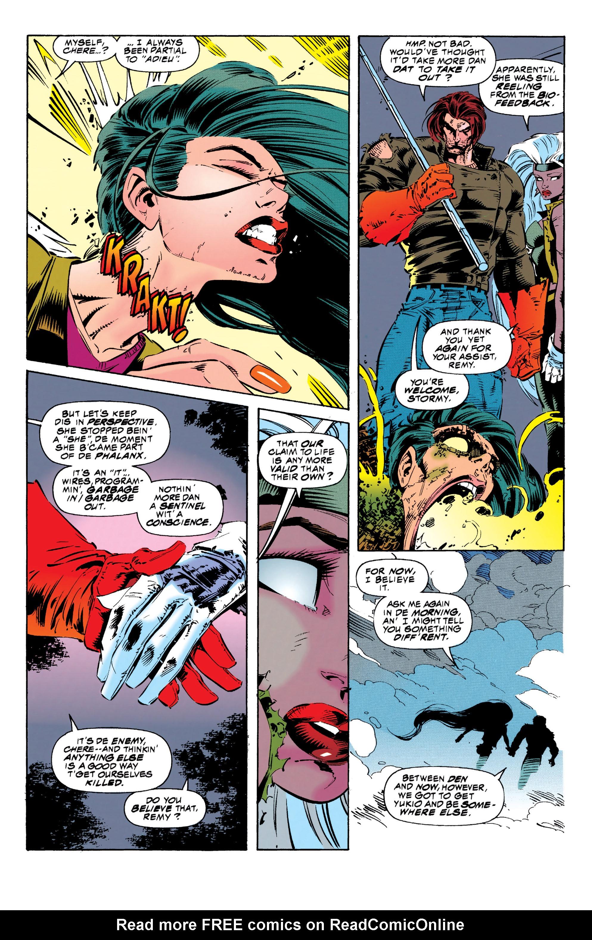 Read online Uncanny X-Men (1963) comic -  Issue #313 - 12