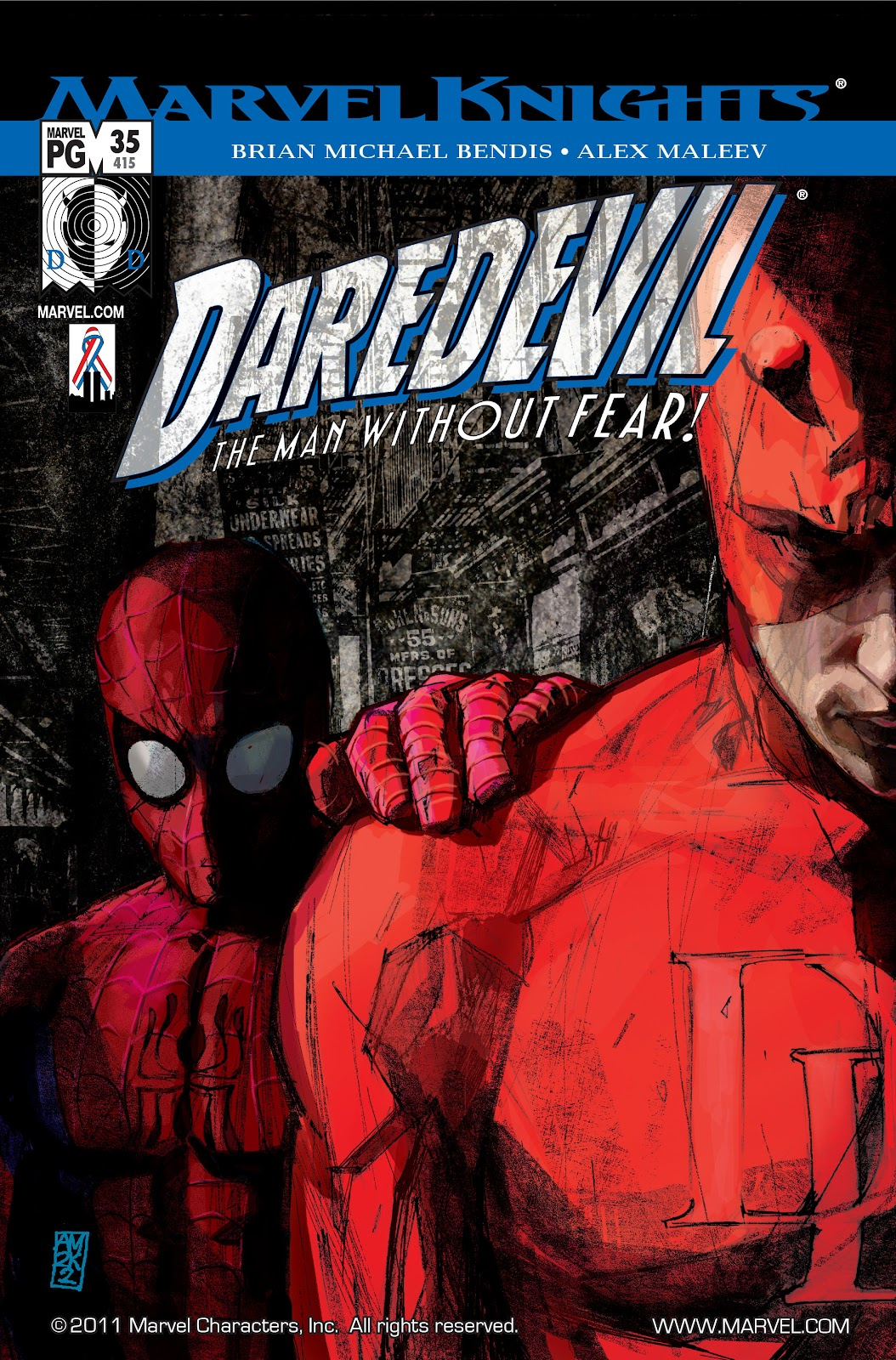 Read online Daredevil (1998) comic -  Issue # _Ultimate_Collection TPB 1 (Part 3) - 78
