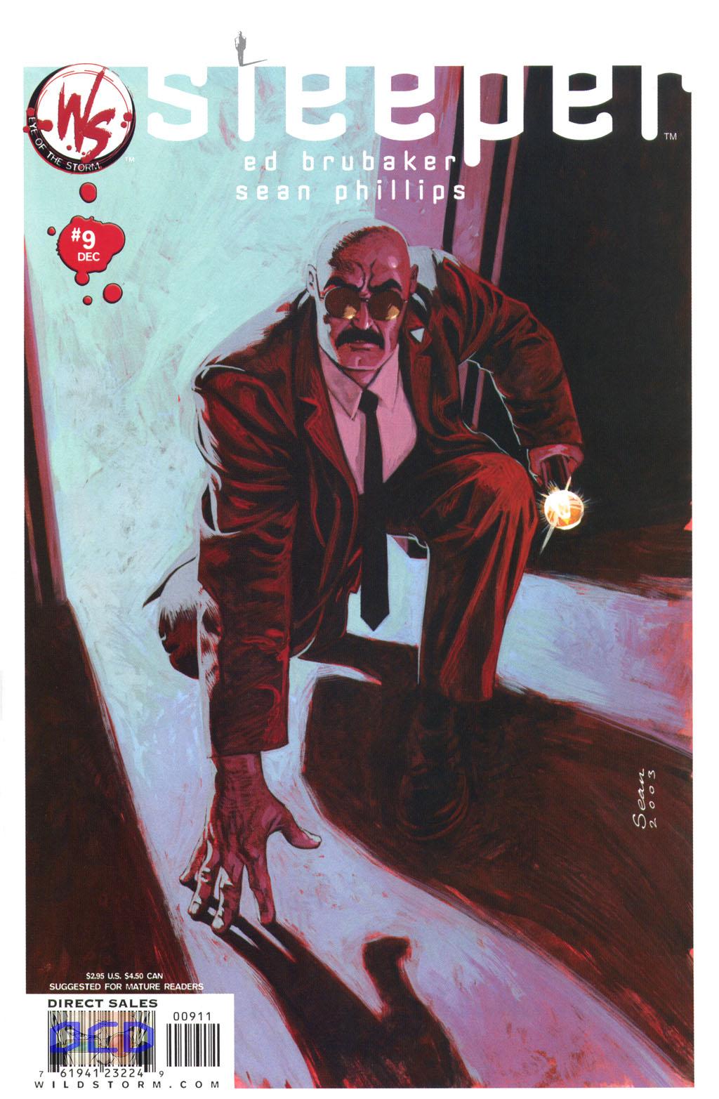 Read online Sleeper comic -  Issue #9 - 2