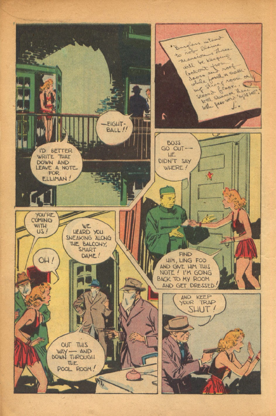 Read online Super-Magician Comics comic -  Issue #54 - 13